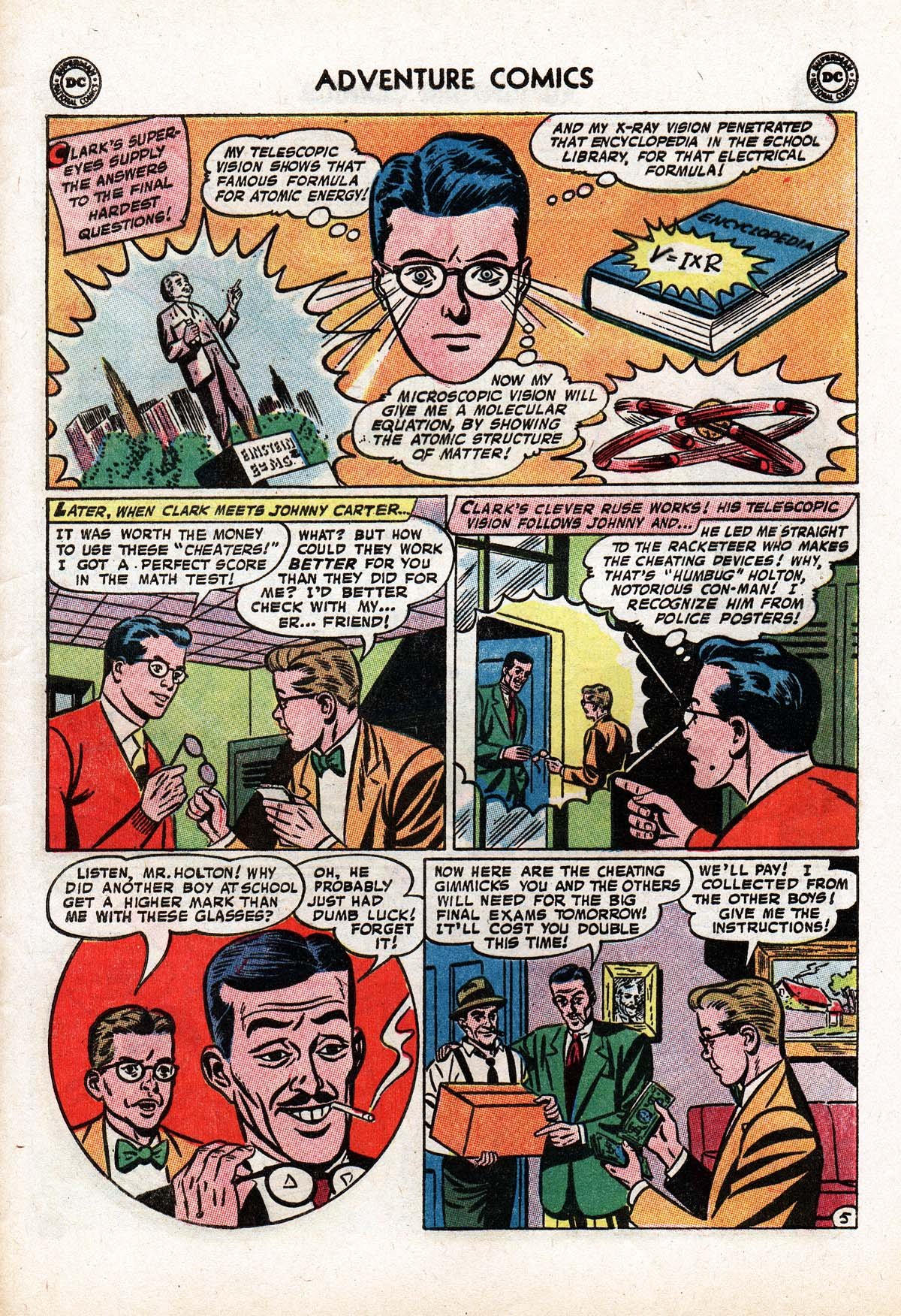 Read online Adventure Comics (1938) comic -  Issue #322 - 29