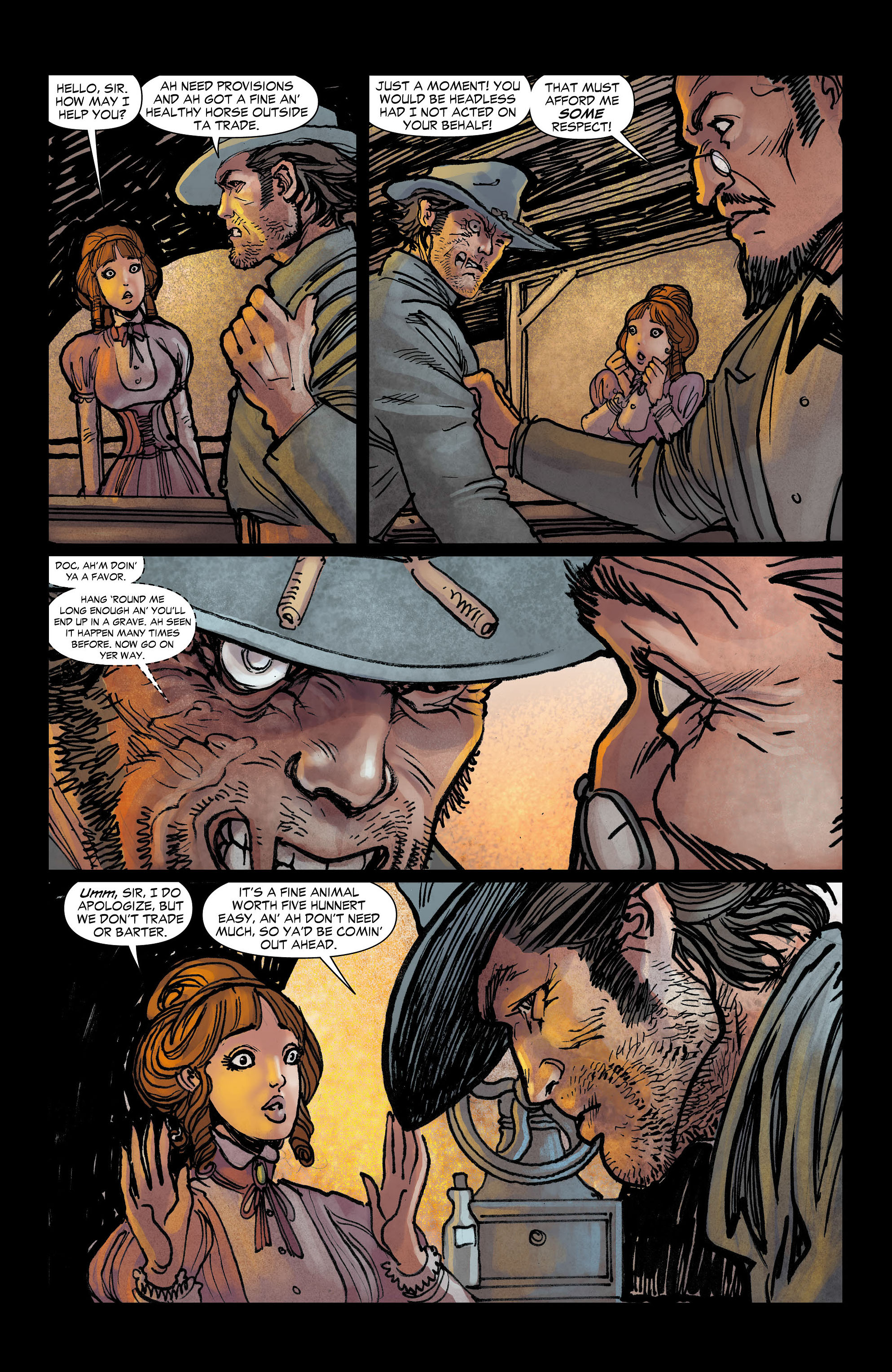 Read online All-Star Western (2011) comic -  Issue #3 - 15