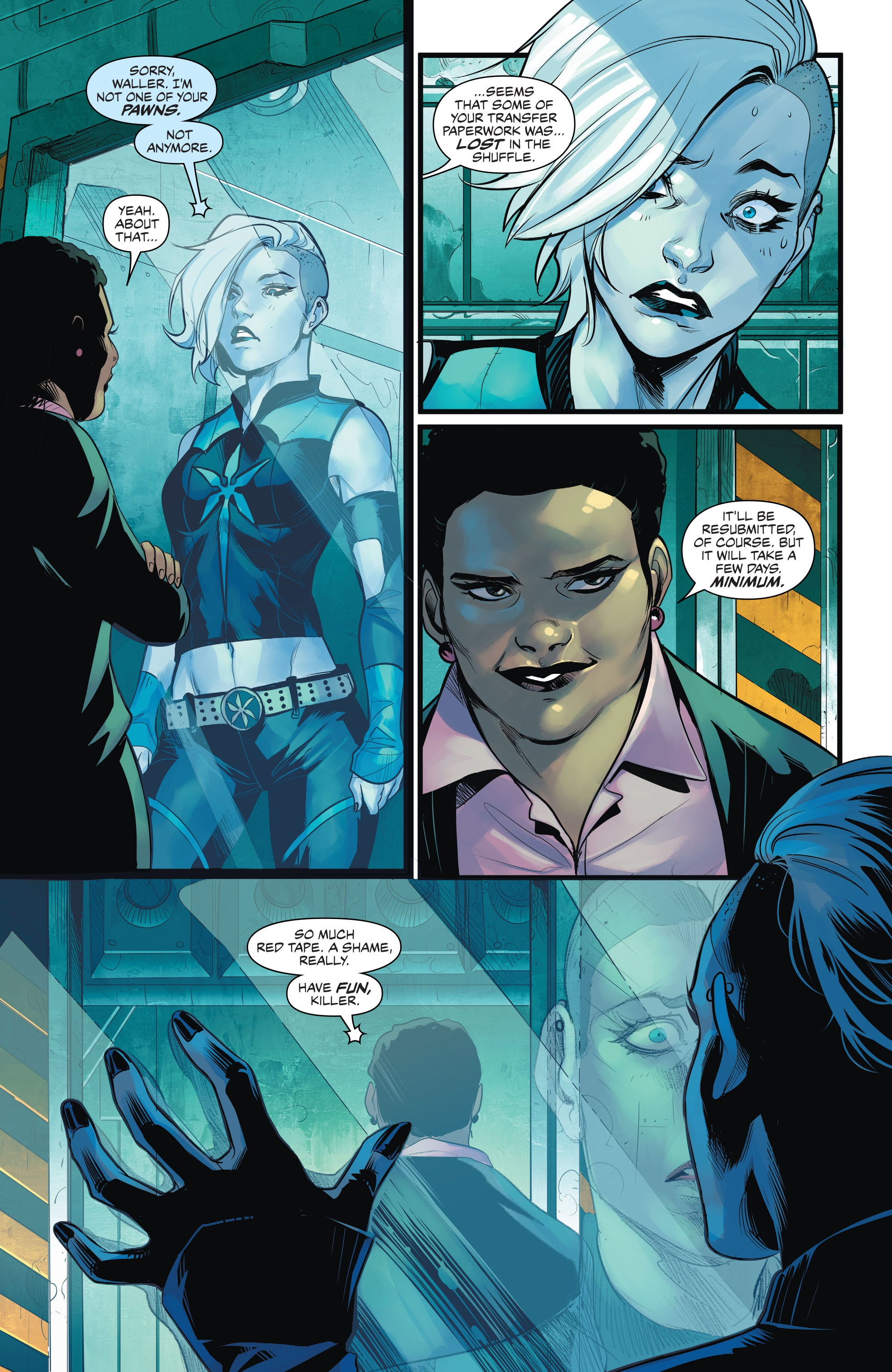 Read online Justice League of America: Killer Frost - Rebirth comic -  Issue # Full - 6