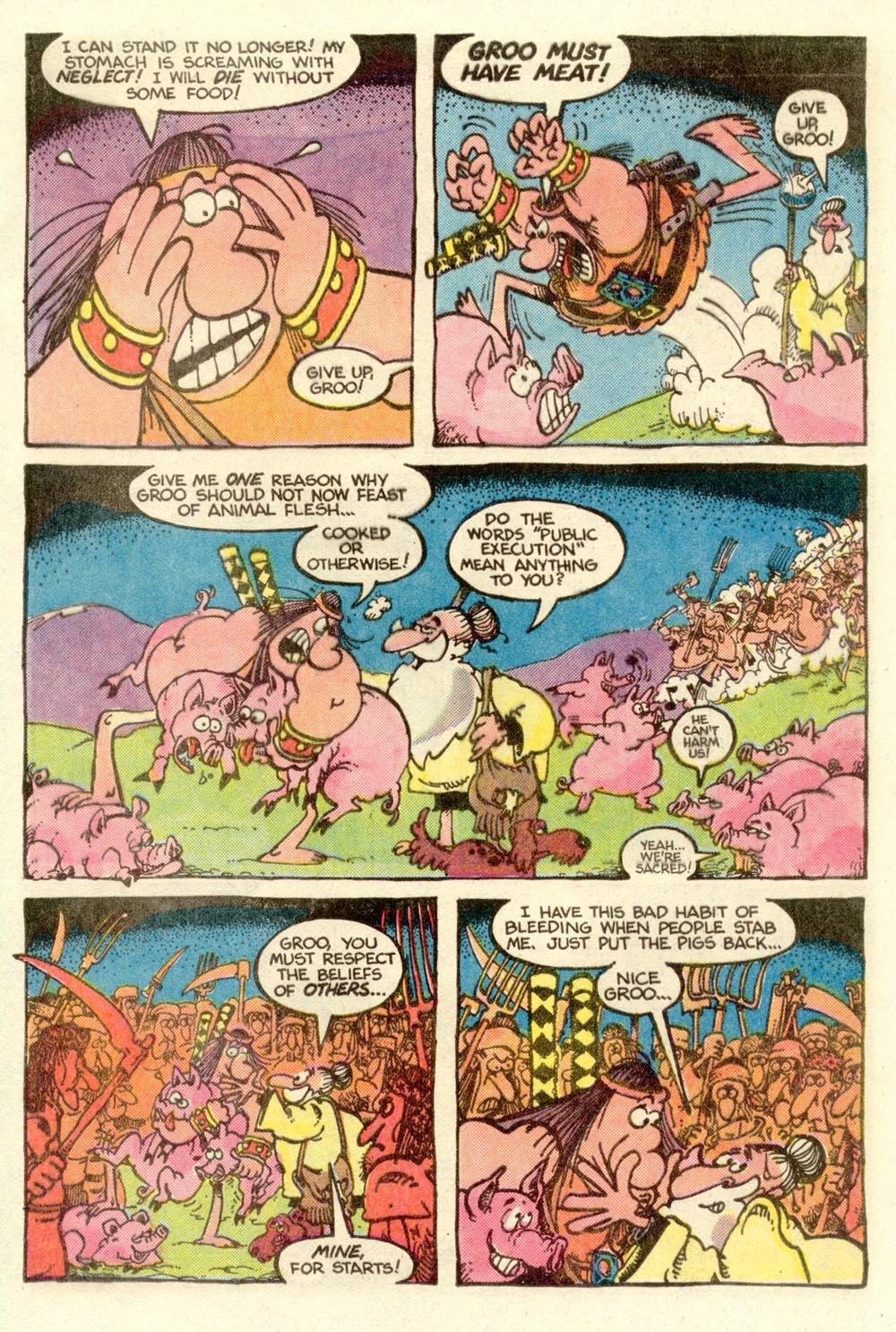 Read online Sergio Aragonés Groo the Wanderer comic -  Issue #9 - 11