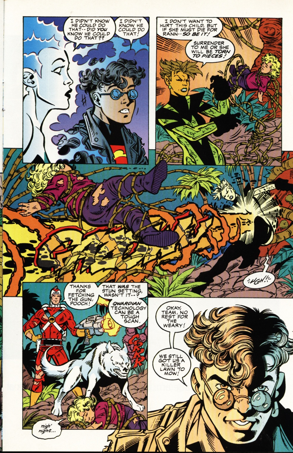 Read online Superboy & The Ravers comic -  Issue #4 - 18