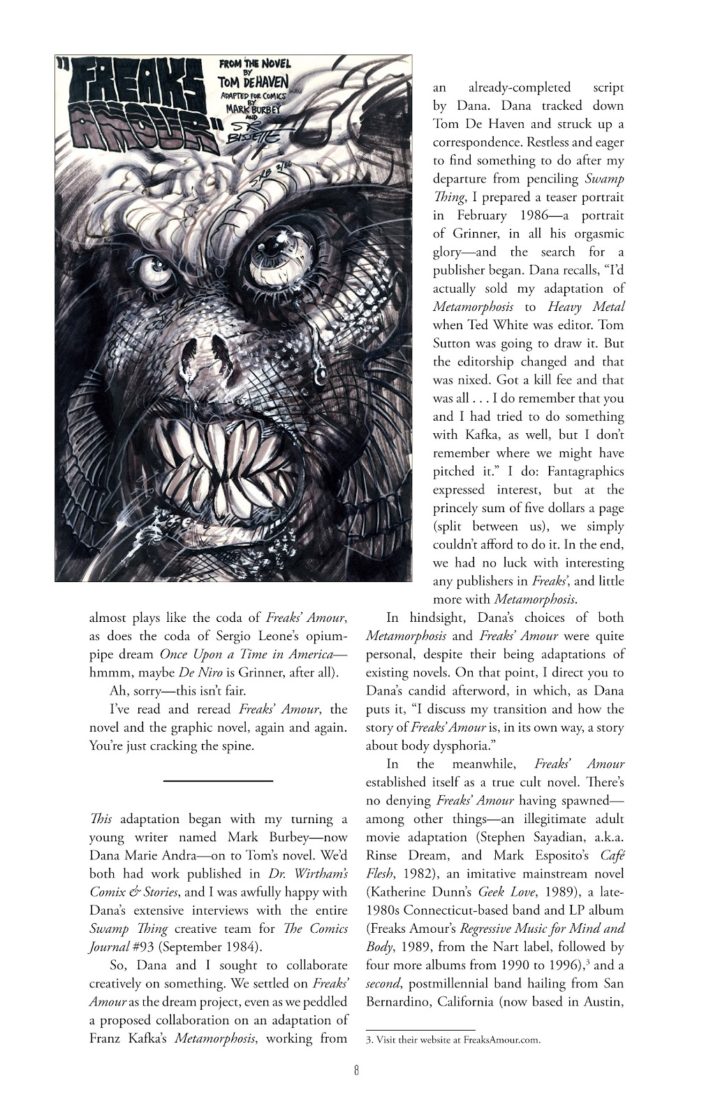 Read online Freaks' Amour comic -  Issue # TPB (Part 1) - 9