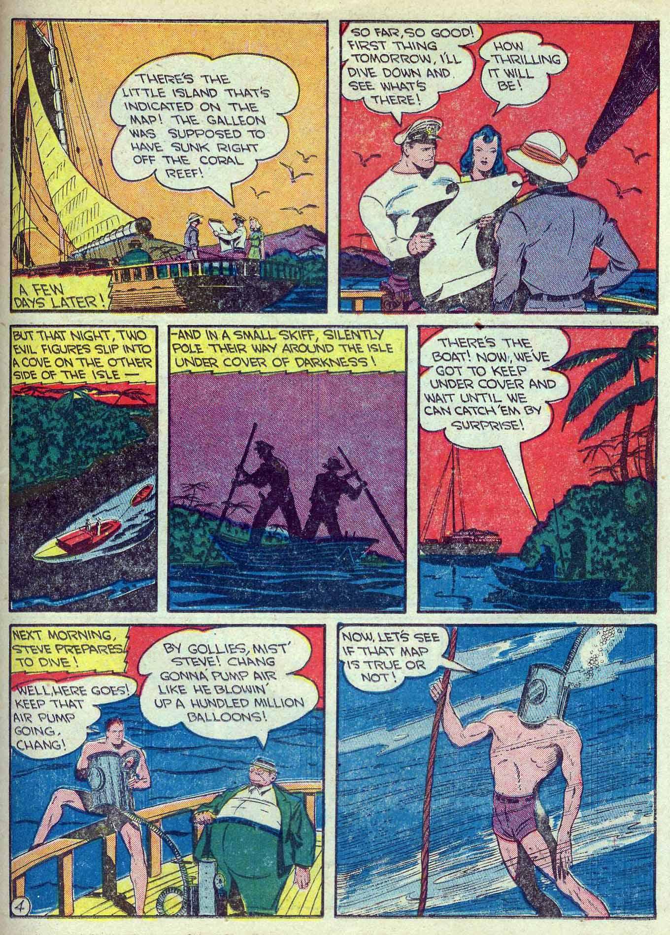 Read online Adventure Comics (1938) comic -  Issue #70 - 43