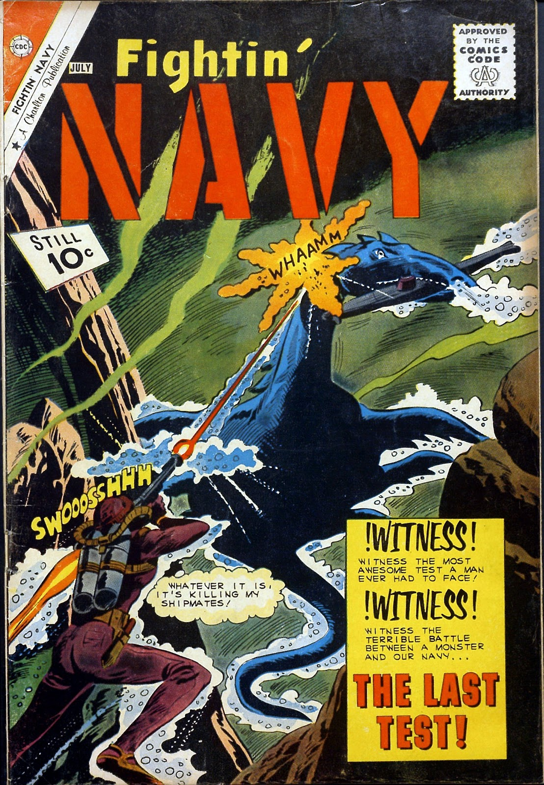 Read online Fightin' Navy comic -  Issue #99 - 1
