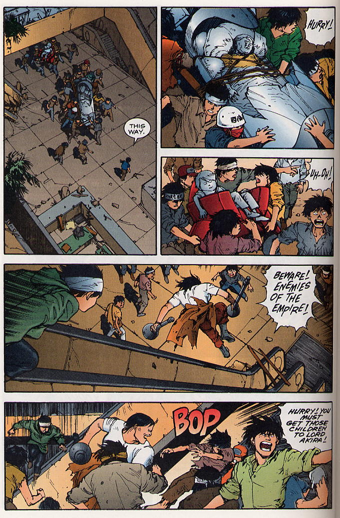 Read online Akira comic -  Issue #19 - 29