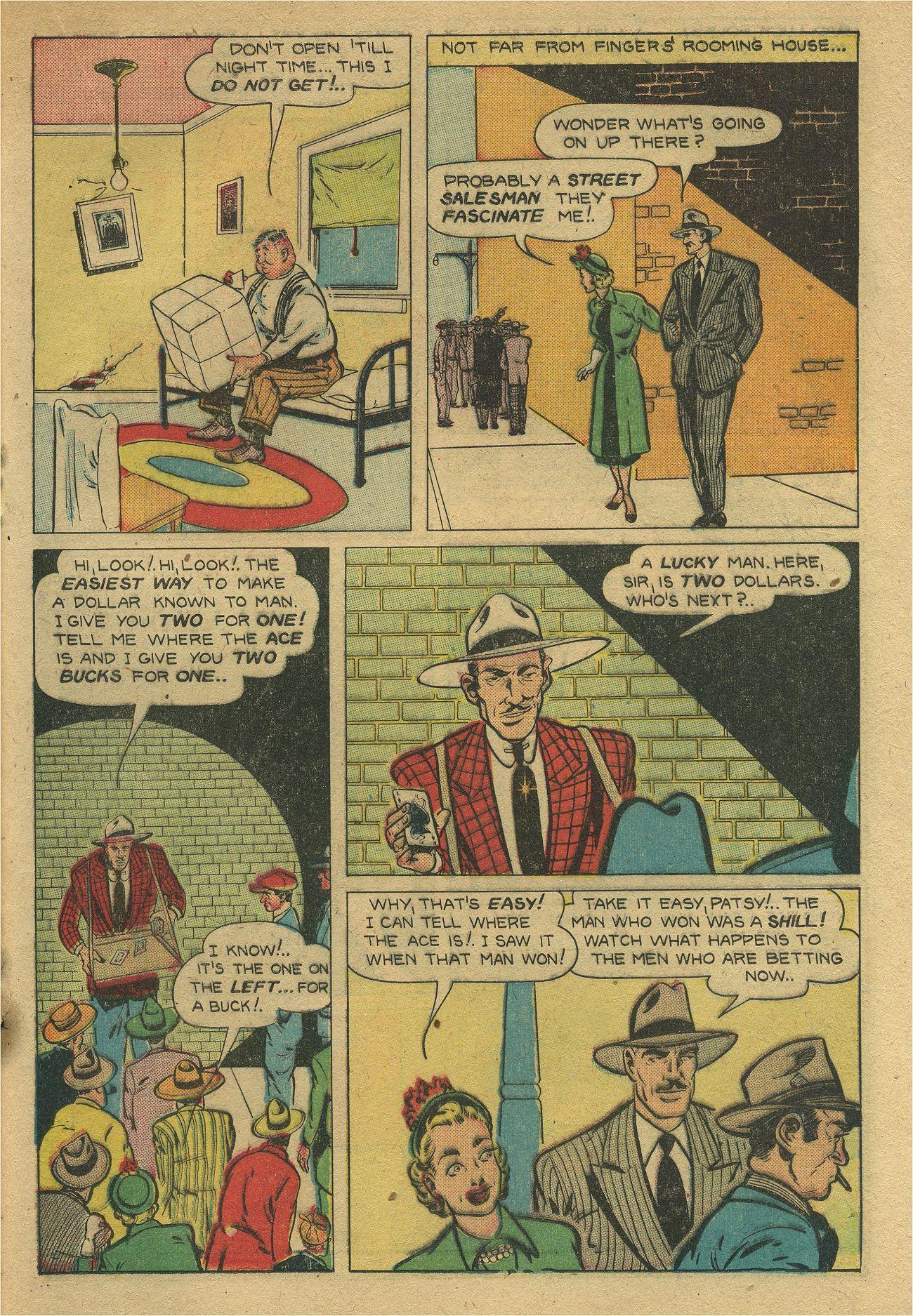 Read online Shadow Comics comic -  Issue #93 - 34