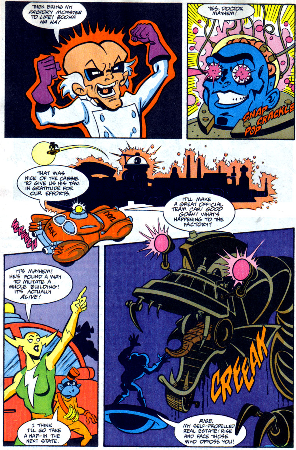 Read online Defenders of Dynatron City comic -  Issue #2 - 18