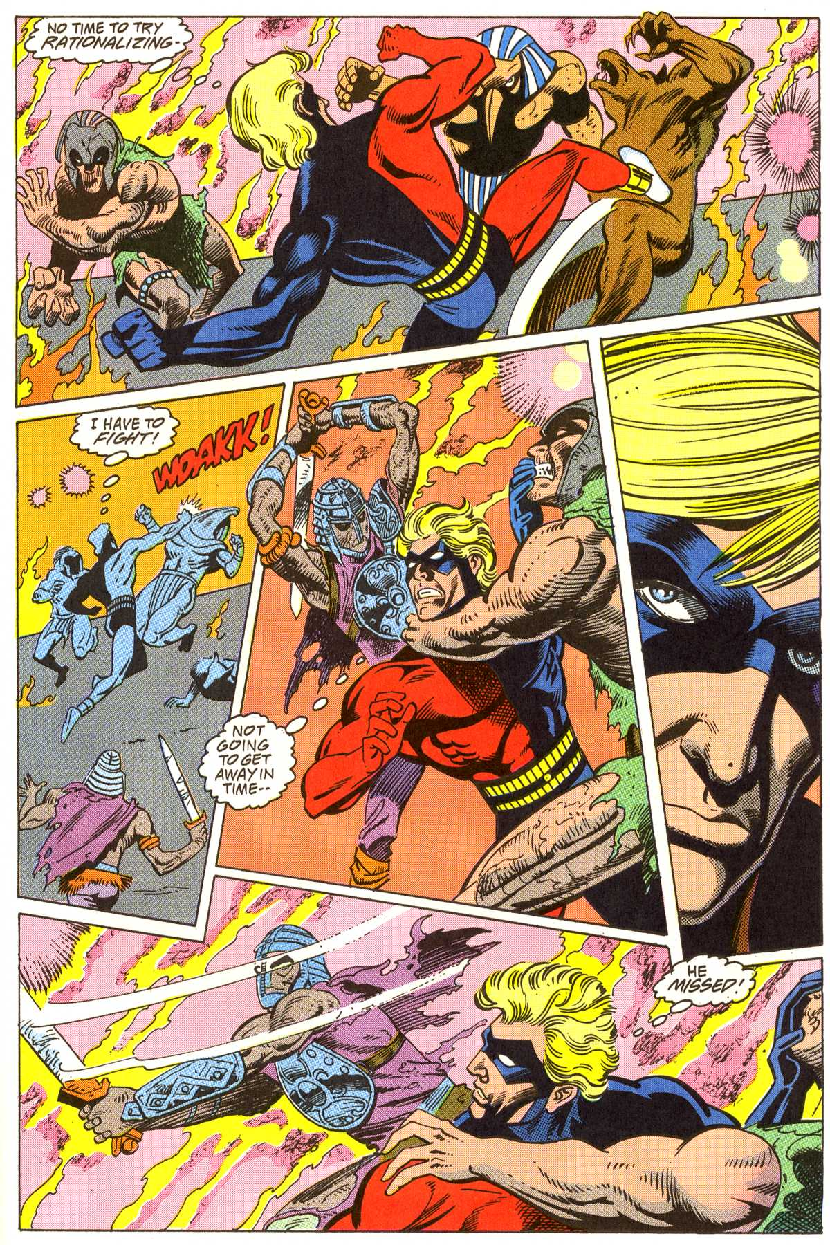 Read online Peter Cannon--Thunderbolt (1992) comic -  Issue #3 - 20