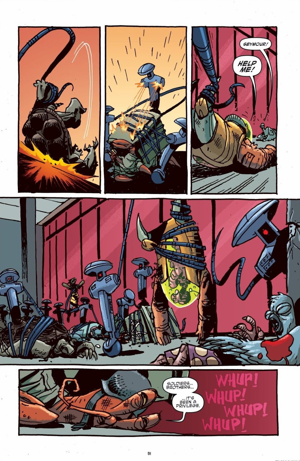 Read online Teenage Mutant Ninja Turtles: The IDW Collection comic -  Issue # TPB 6 (Part 1) - 90