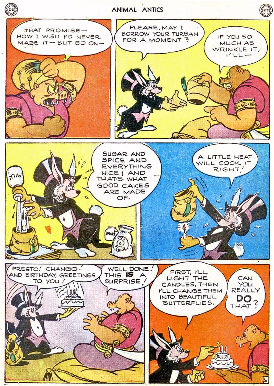 Read online Animal Antics comic -  Issue #2 - 8