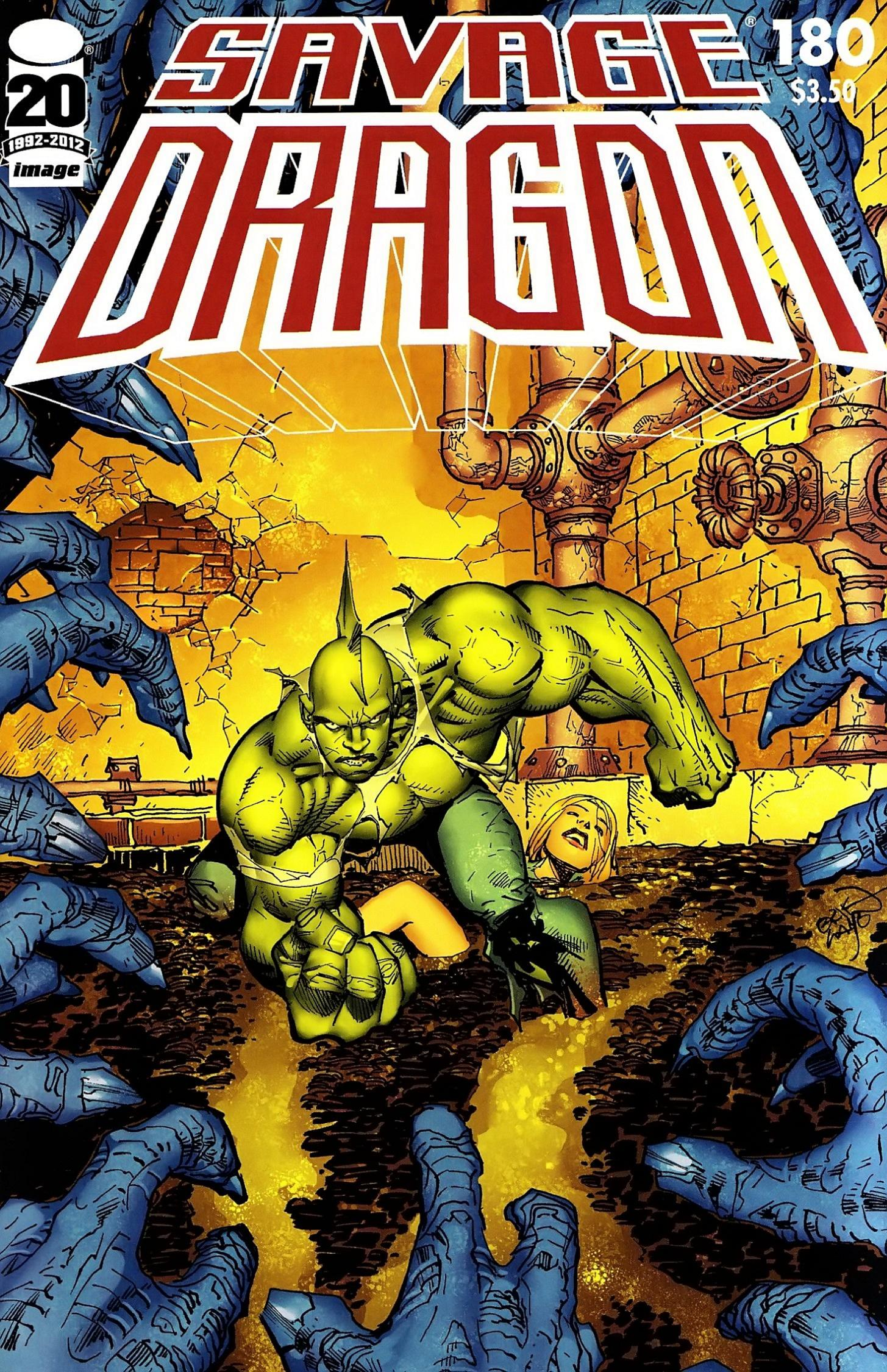 The Savage Dragon (1993) 180 Page 1