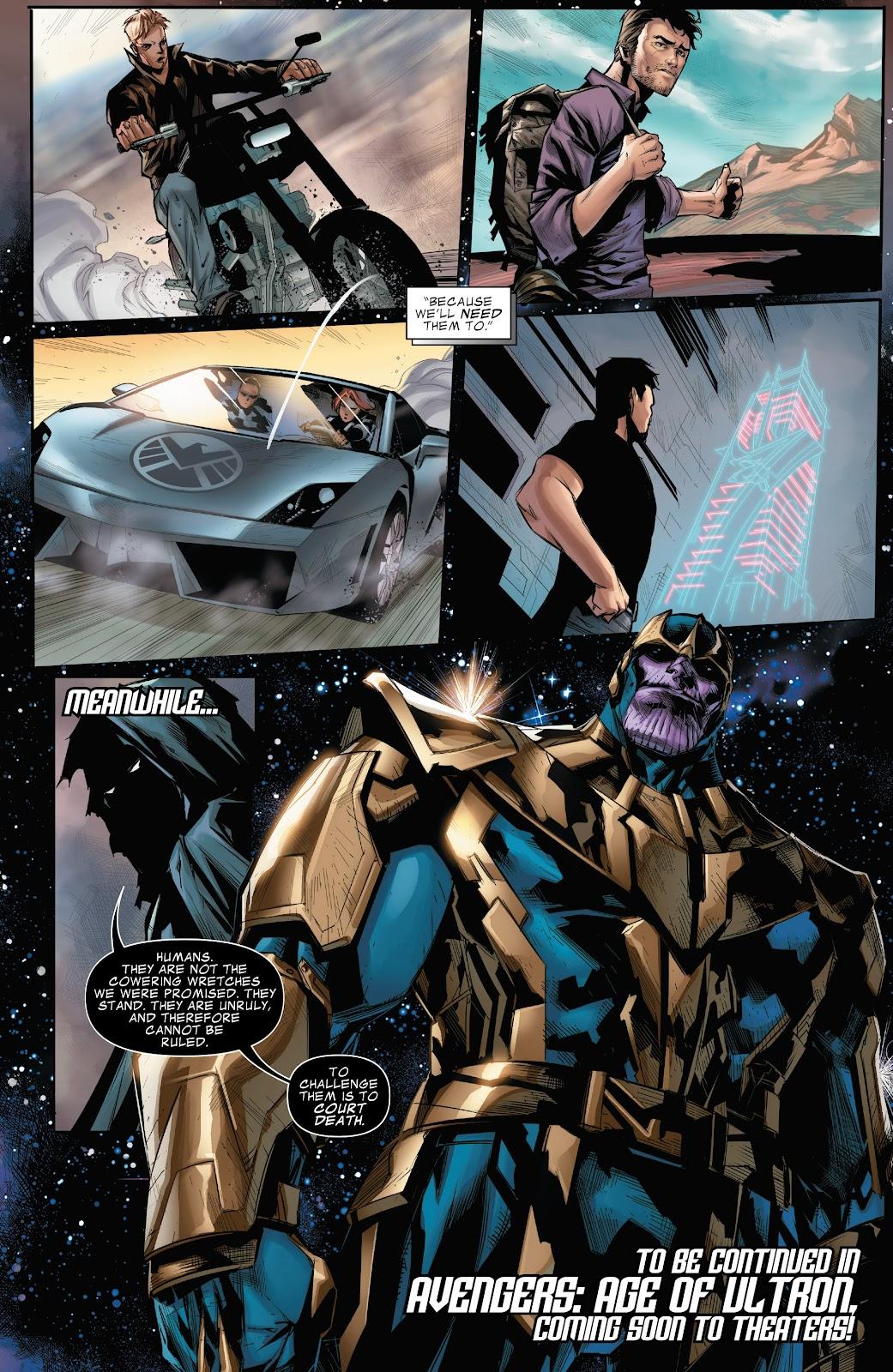 Read online Marvel's The Avengers comic -  Issue #2 - 22