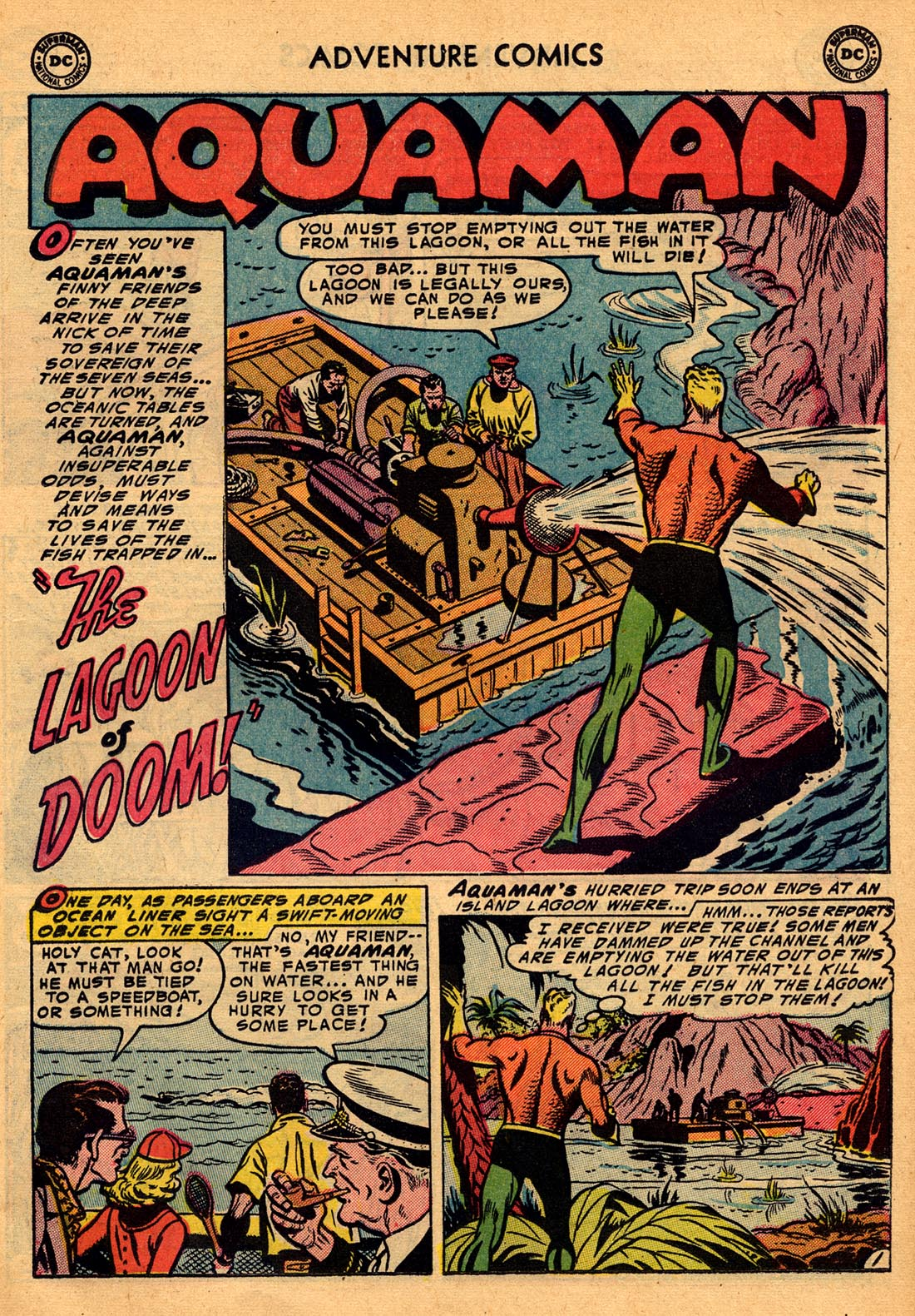 Read online Adventure Comics (1938) comic -  Issue #204 - 17