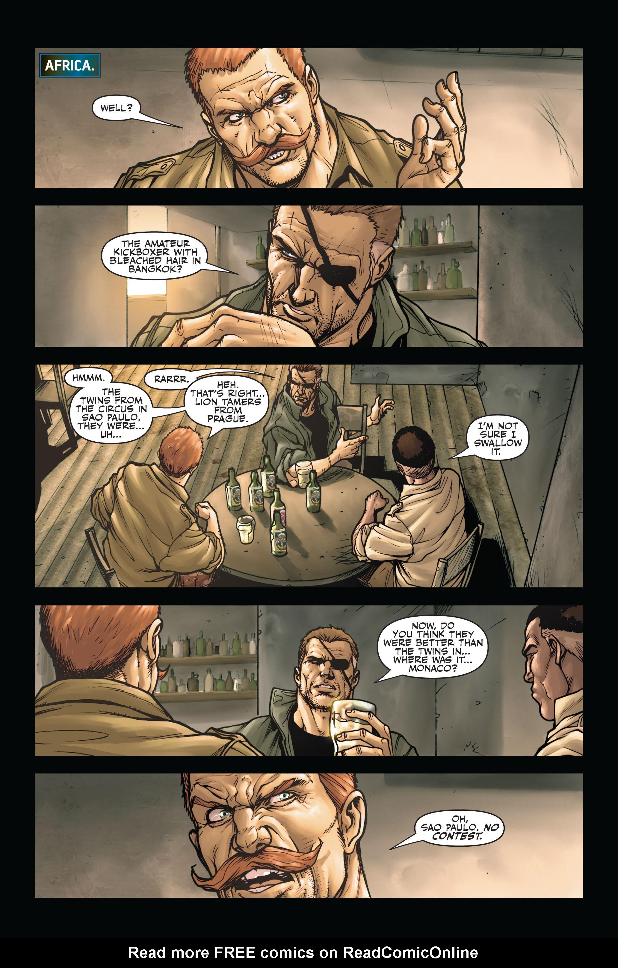 Read online Secret Warriors comic -  Issue #4 - 14