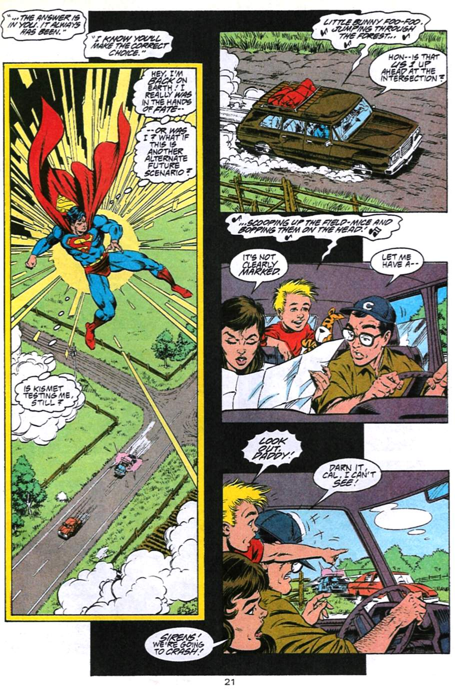 Read online Adventures of Superman (1987) comic -  Issue #494 - 22