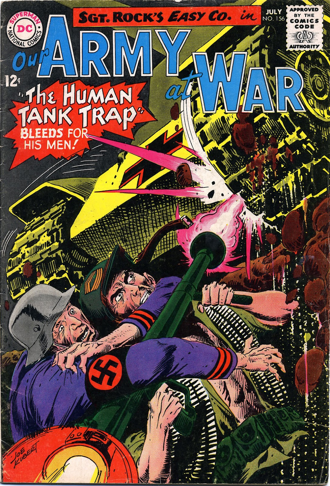 Our Army at War (1952) issue 156 - Page 1