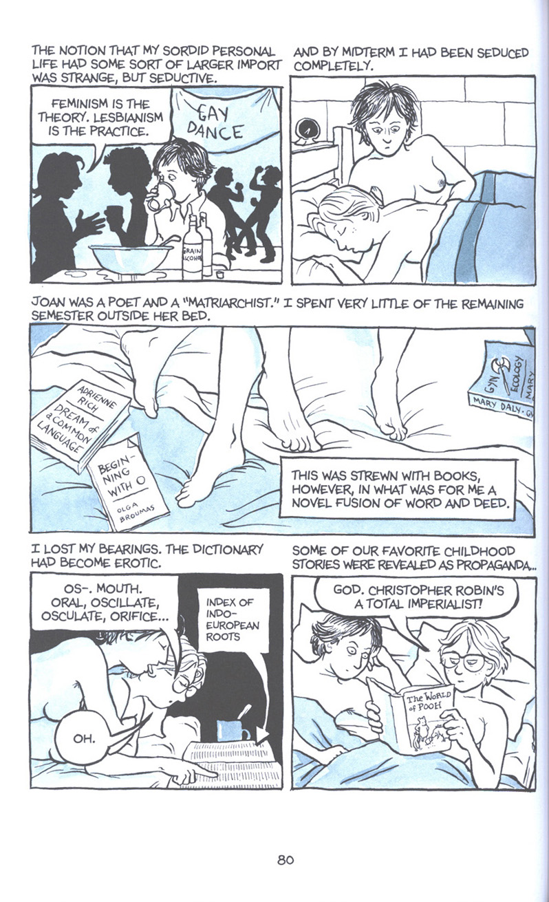 Read online Fun Home: A Family Tragicomic comic -  Issue # TPB - 87