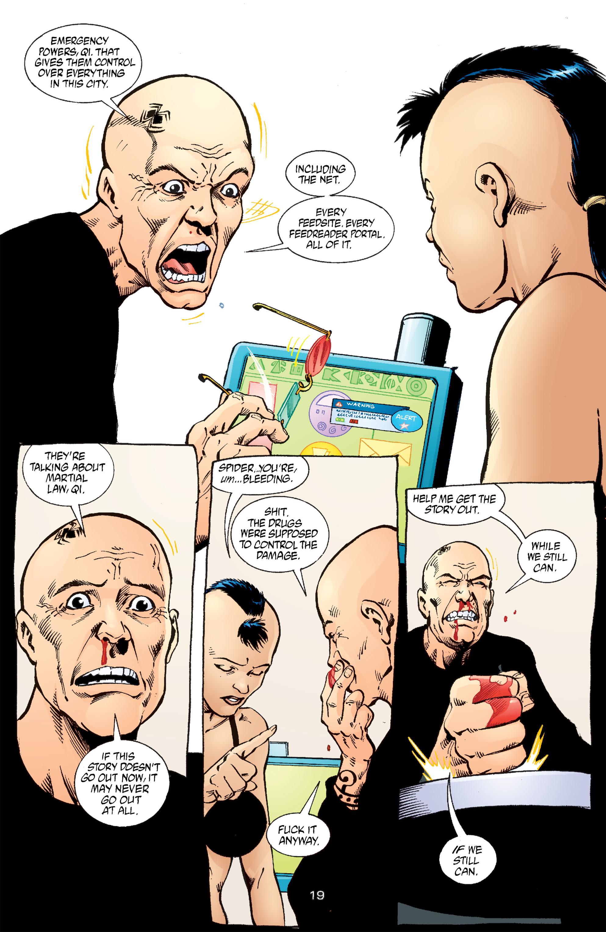 Read online Transmetropolitan comic -  Issue #54 - 20