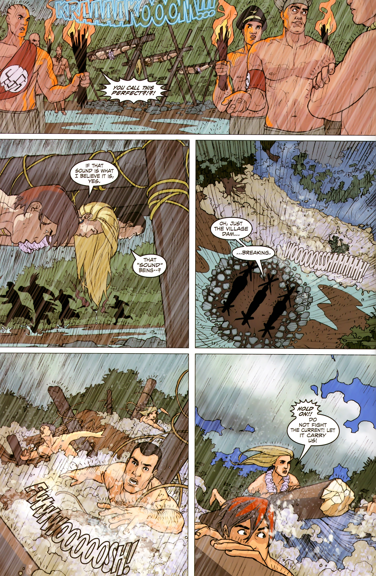 Read online Sheena Queen of the Jungle: Dark Rising comic -  Issue #2 - 16