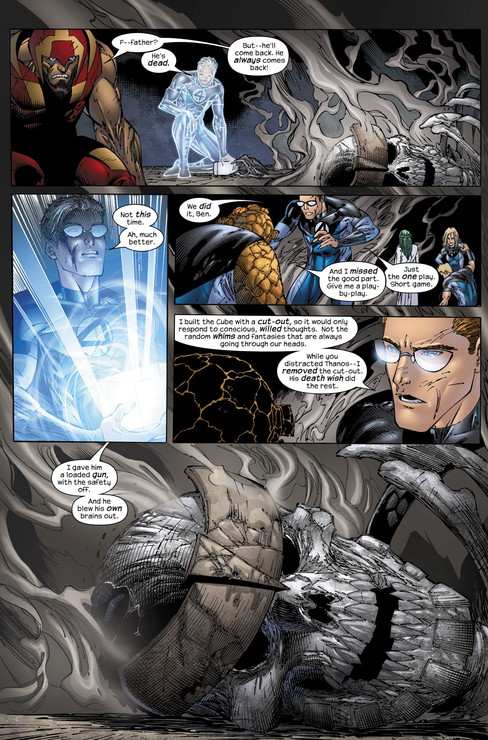 Read online Ultimate Fantastic Four (2004) comic -  Issue #53 - 20