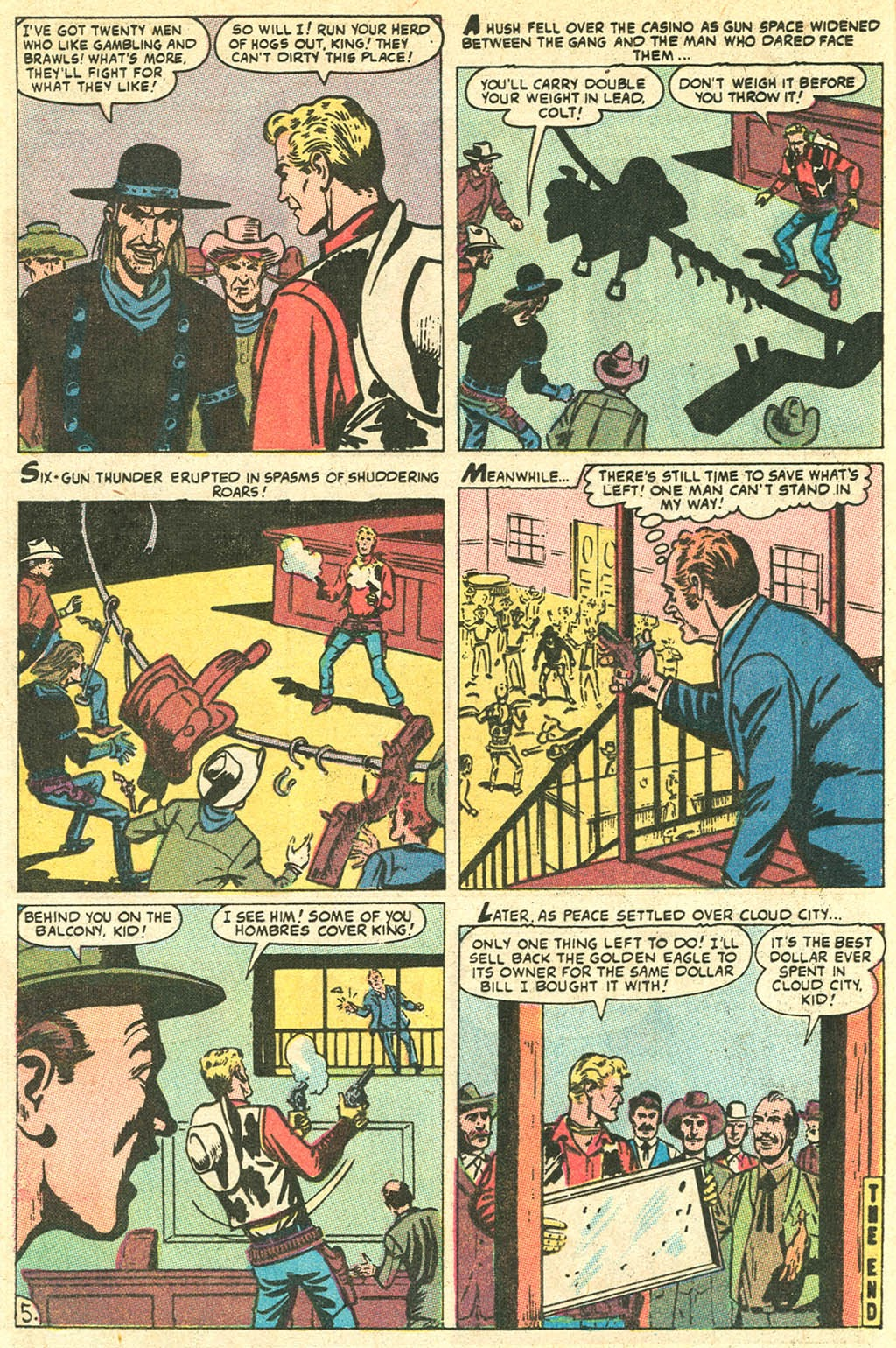 Kid Colt Outlaw issue 141 - Page 8