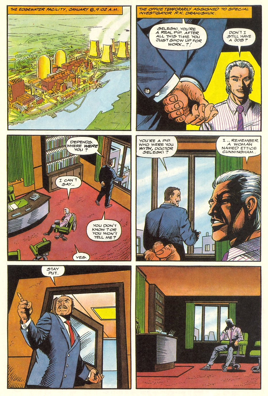 Read online Solar, Man of the Atom comic -  Issue #8 - 36