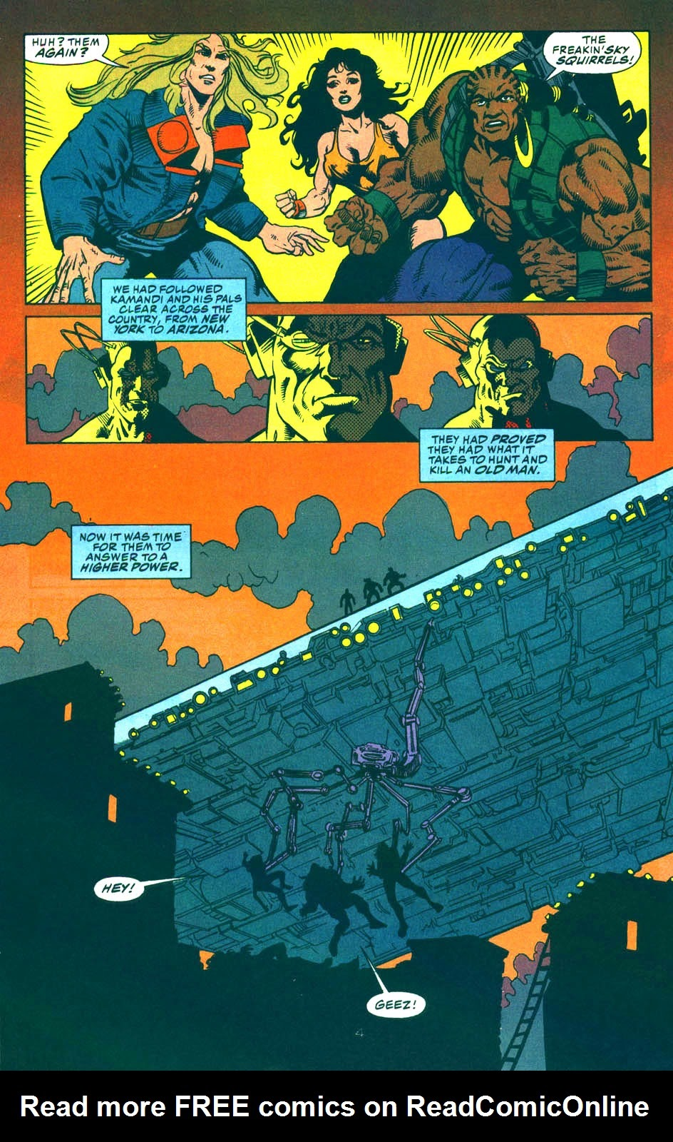 Read online Kamandi: At Earth's End comic -  Issue #5 - 5