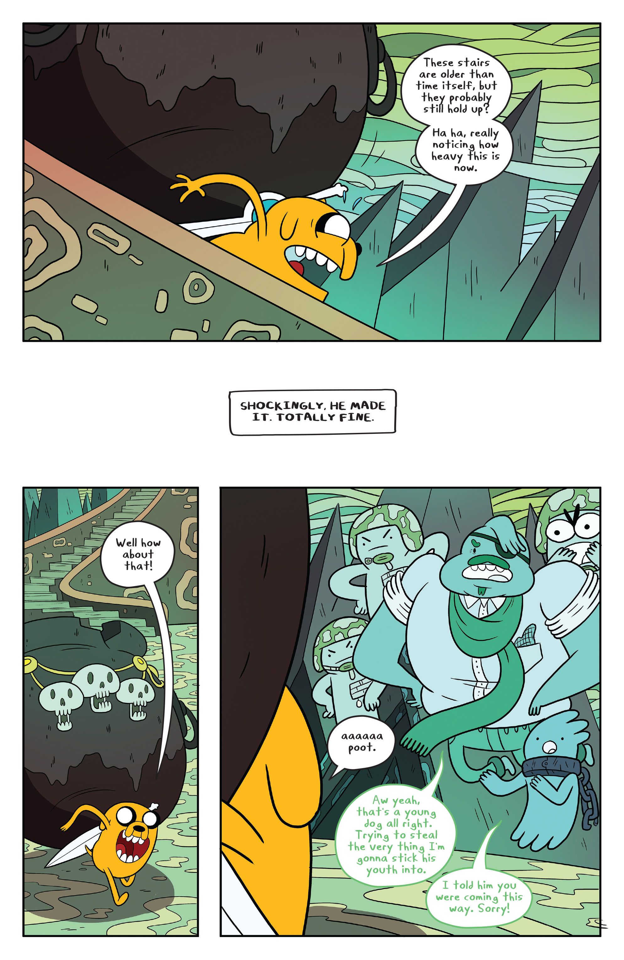 Read online Adventure Time comic -  Issue #53 - 14
