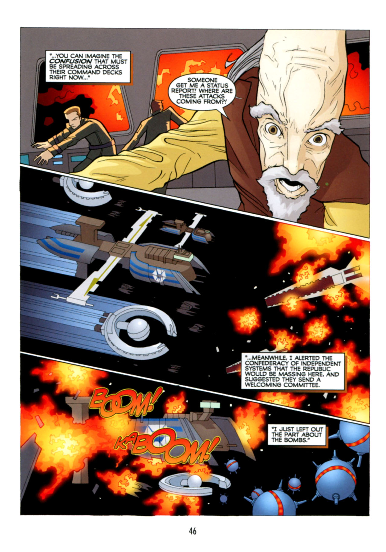 Read online Star Wars: The Clone Wars - Deadly Hands of Shon-Ju comic -  Issue # Full - 47