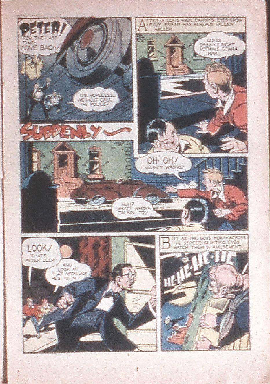 Read online Shadow Comics comic -  Issue #33 - 33