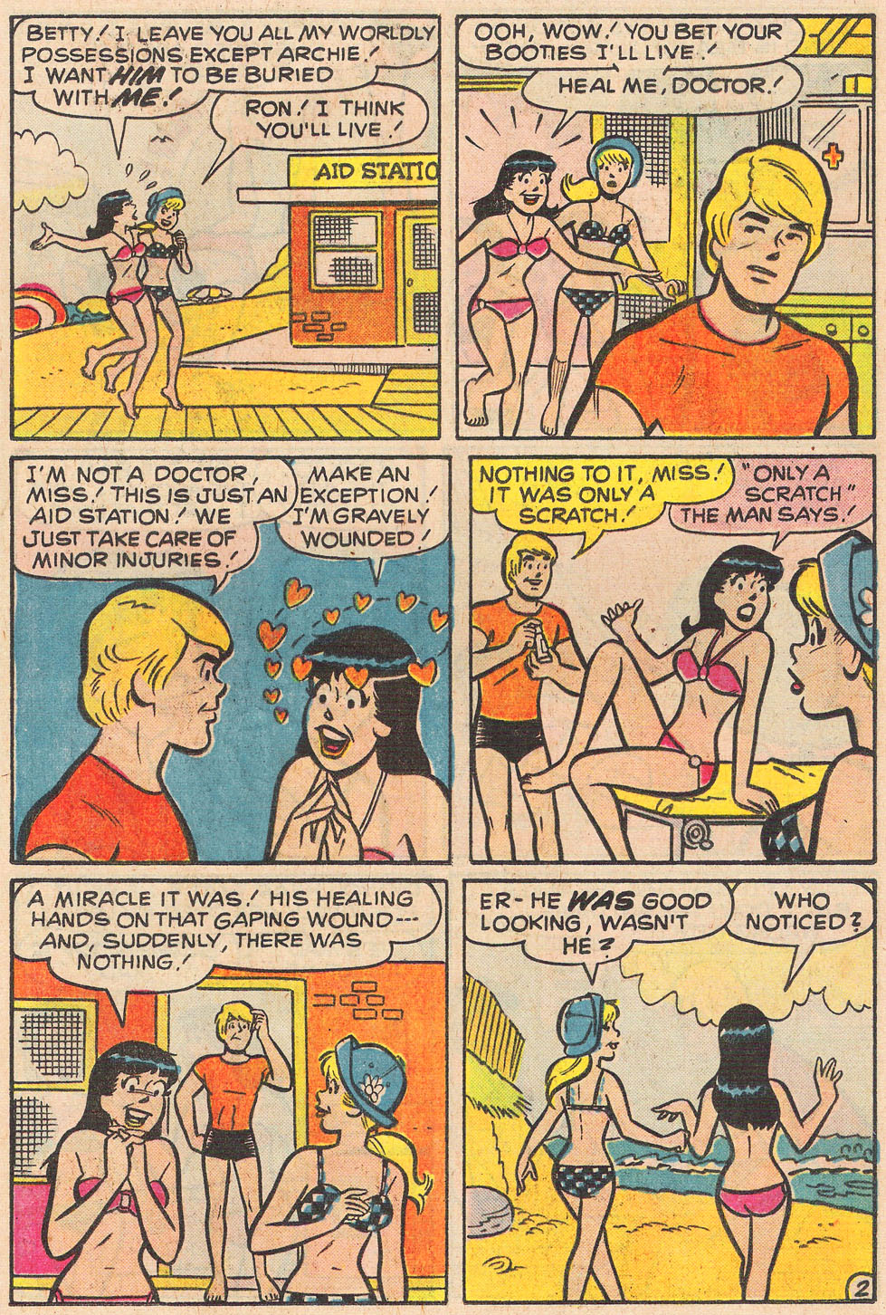 Read online Archie's Girls Betty and Veronica comic -  Issue #251 - 21