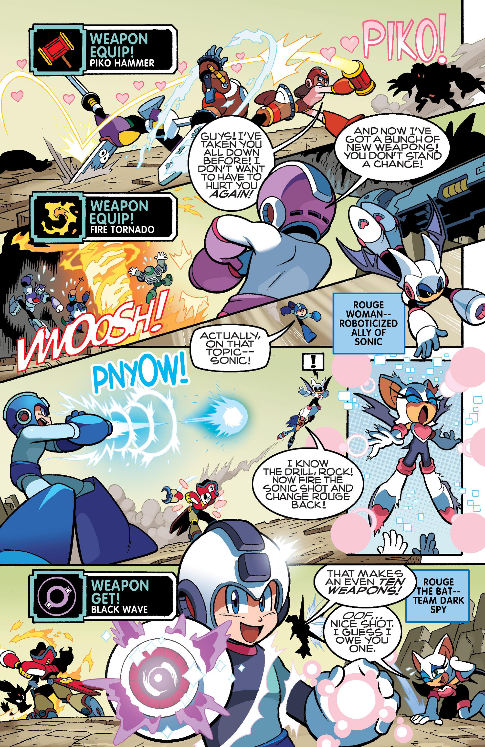 Read online Sonic Mega Man Worlds Collide comic -  Issue # Vol 3 - 24