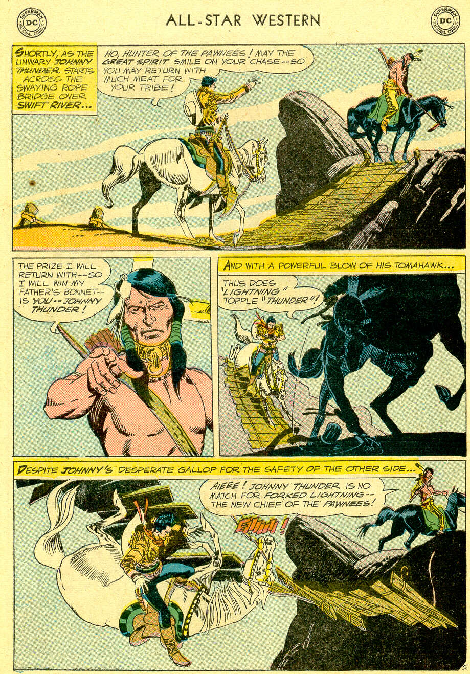 Read online All-Star Western (1951) comic -  Issue #103 - 28