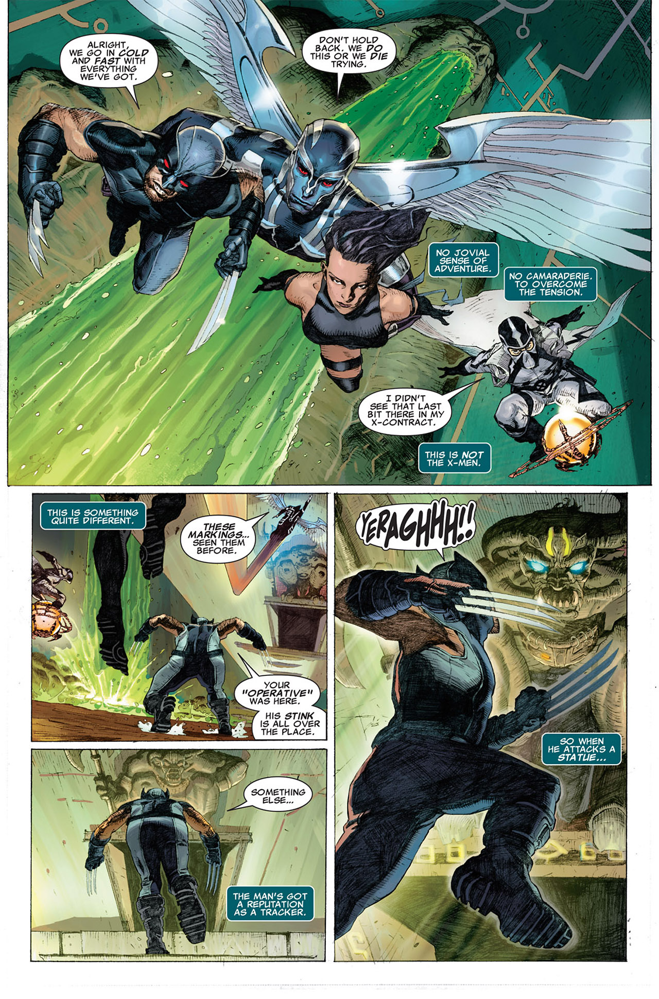 Read online Uncanny X-Force (2010) comic -  Issue #1 - 16