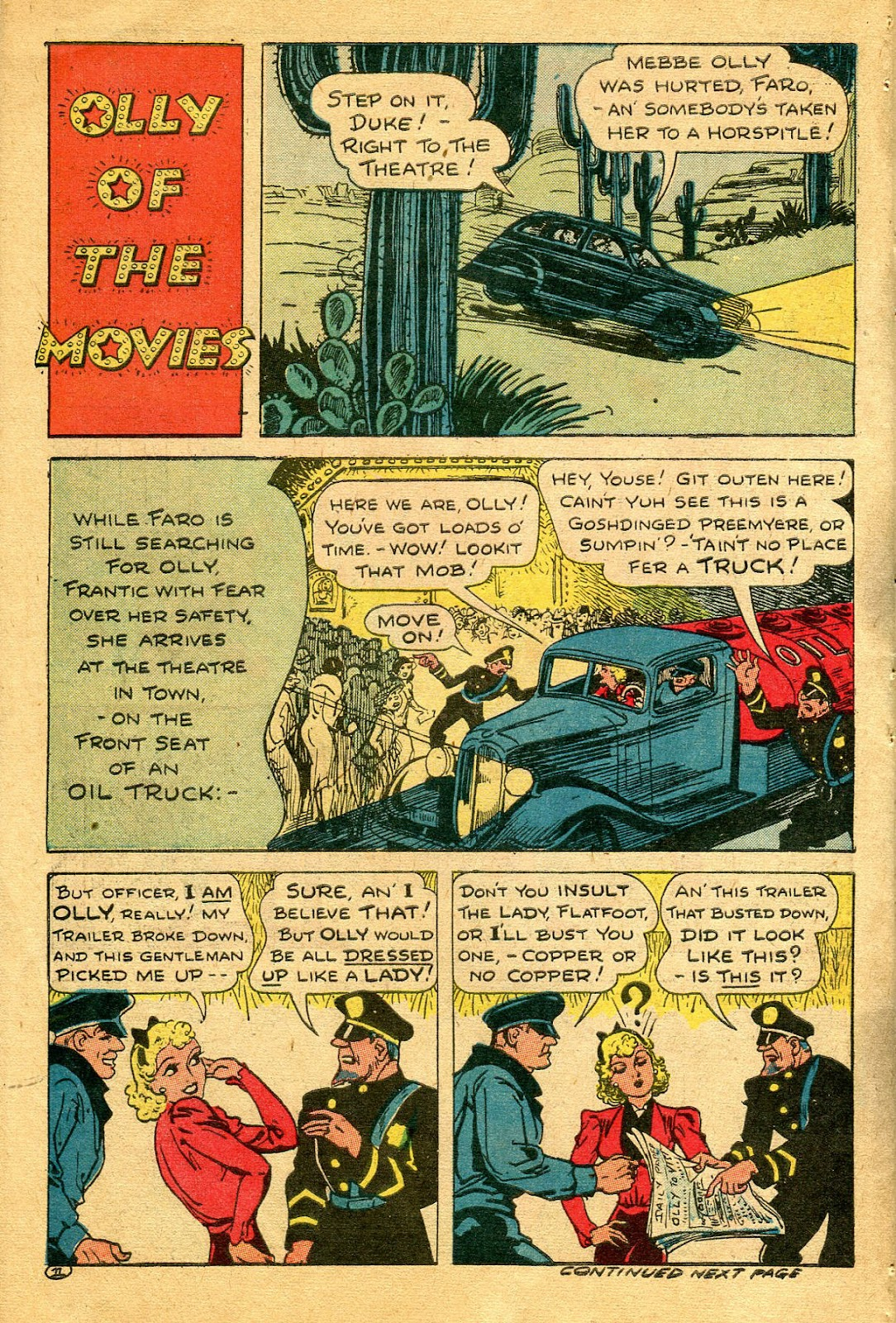 Read online Famous Funnies comic -  Issue #122 - 46