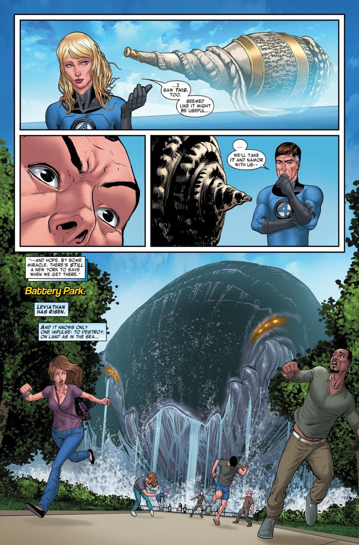 Read online Fantastic Four: Season One comic -  Issue # TPB - 100