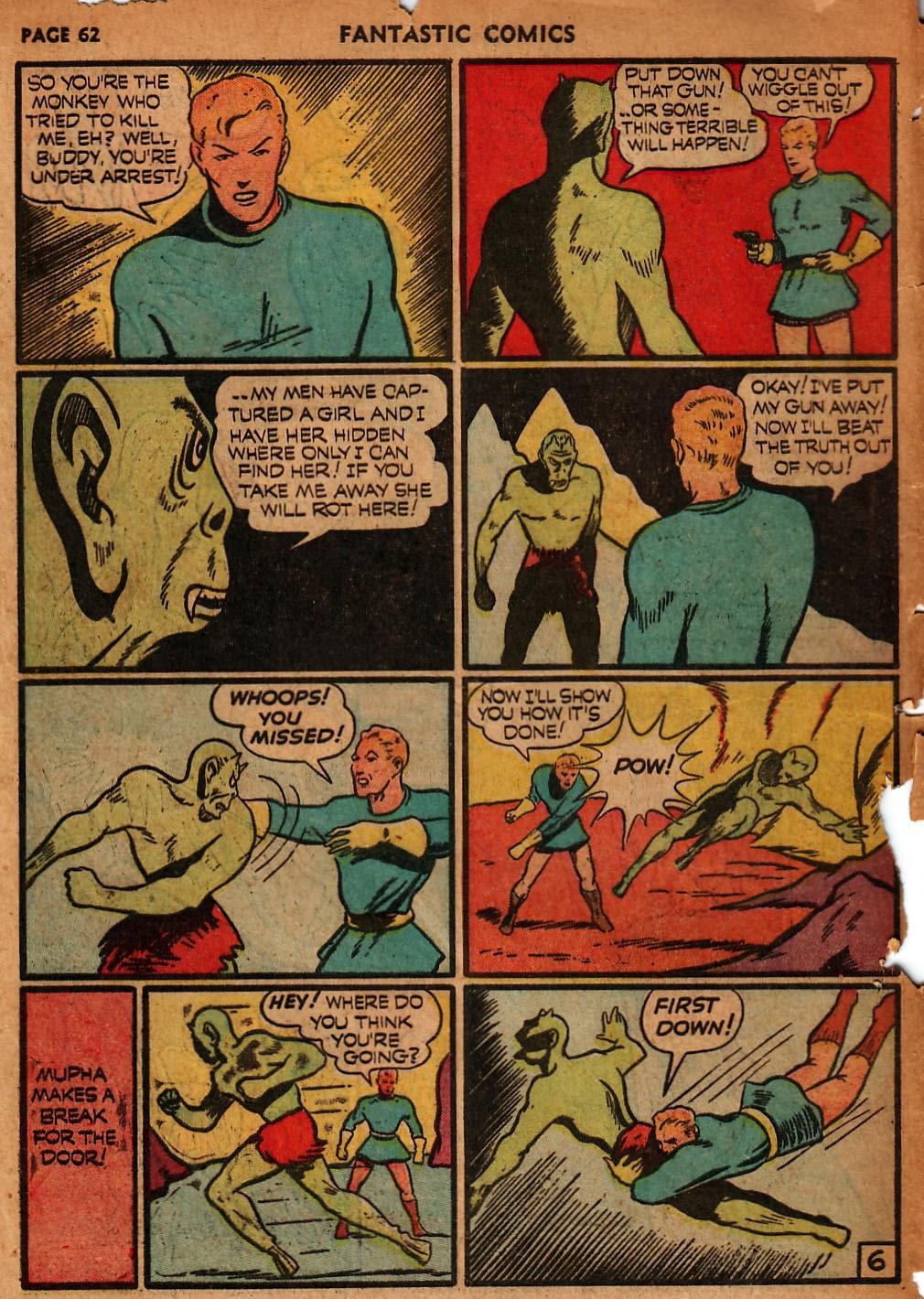 Read online Fantastic Comics comic -  Issue #18 - 64
