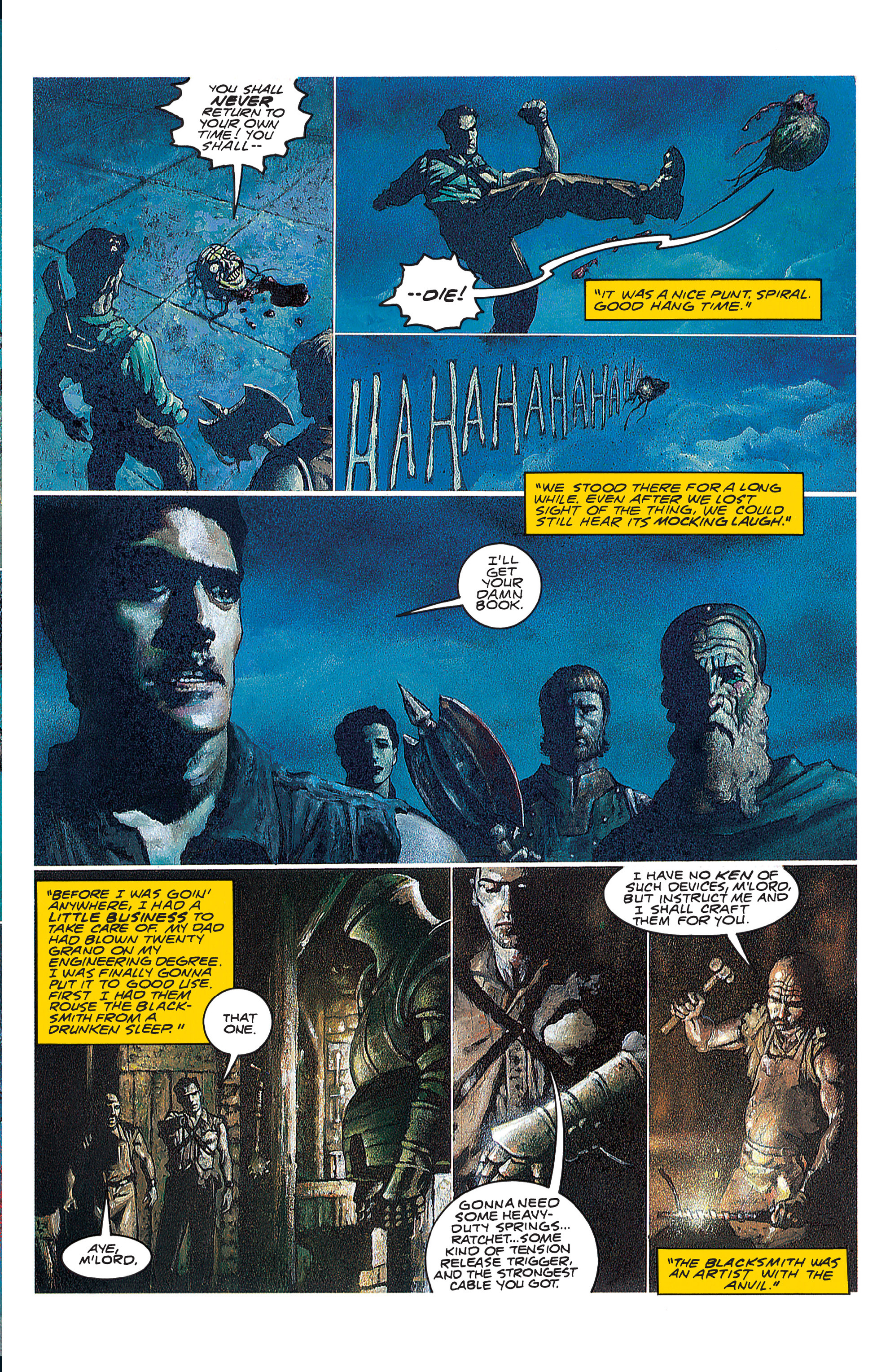 Read online Army of Darkness (1992) comic -  Issue #1 - 22