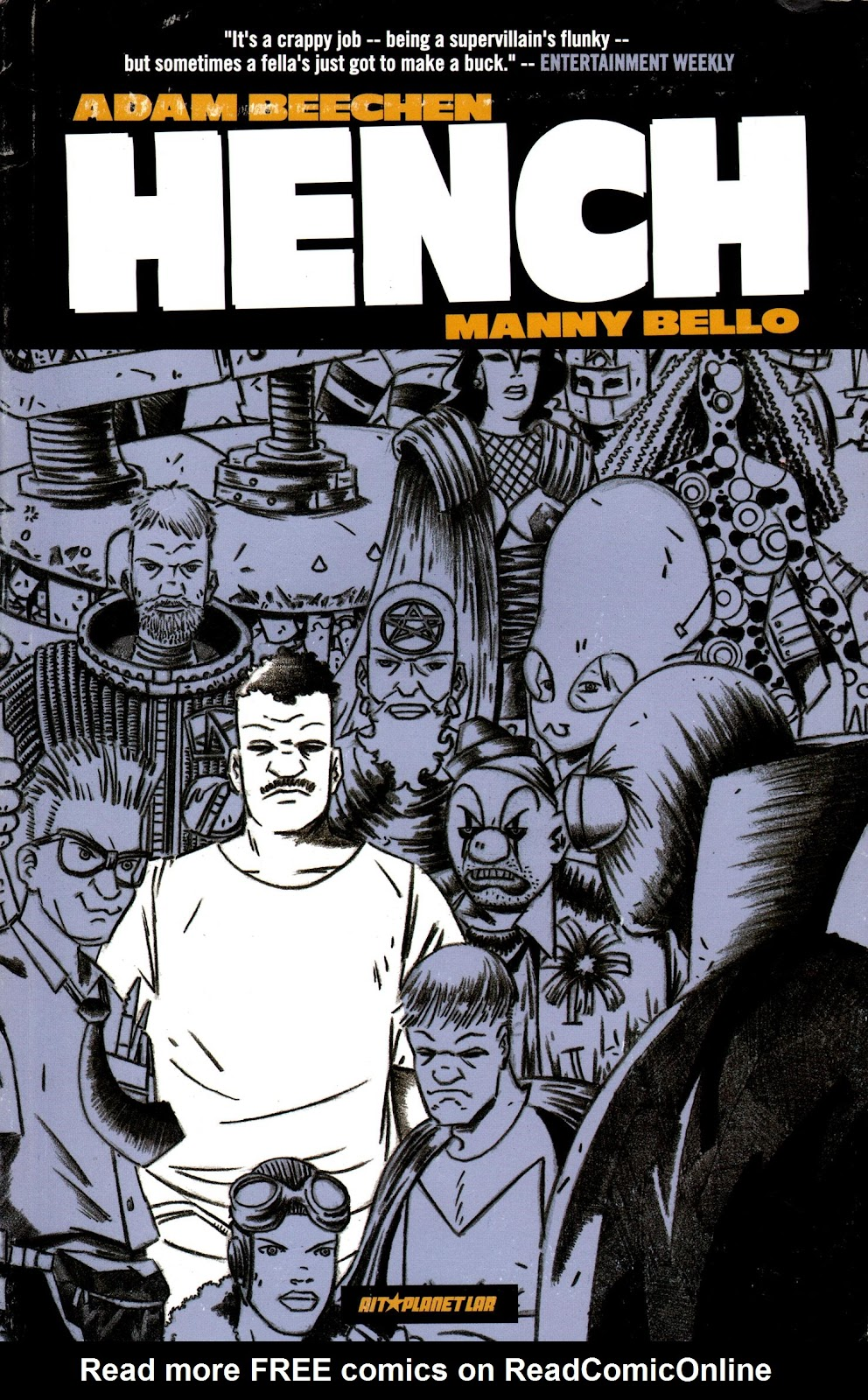 Read online Hench comic -  Issue # TPB - 1