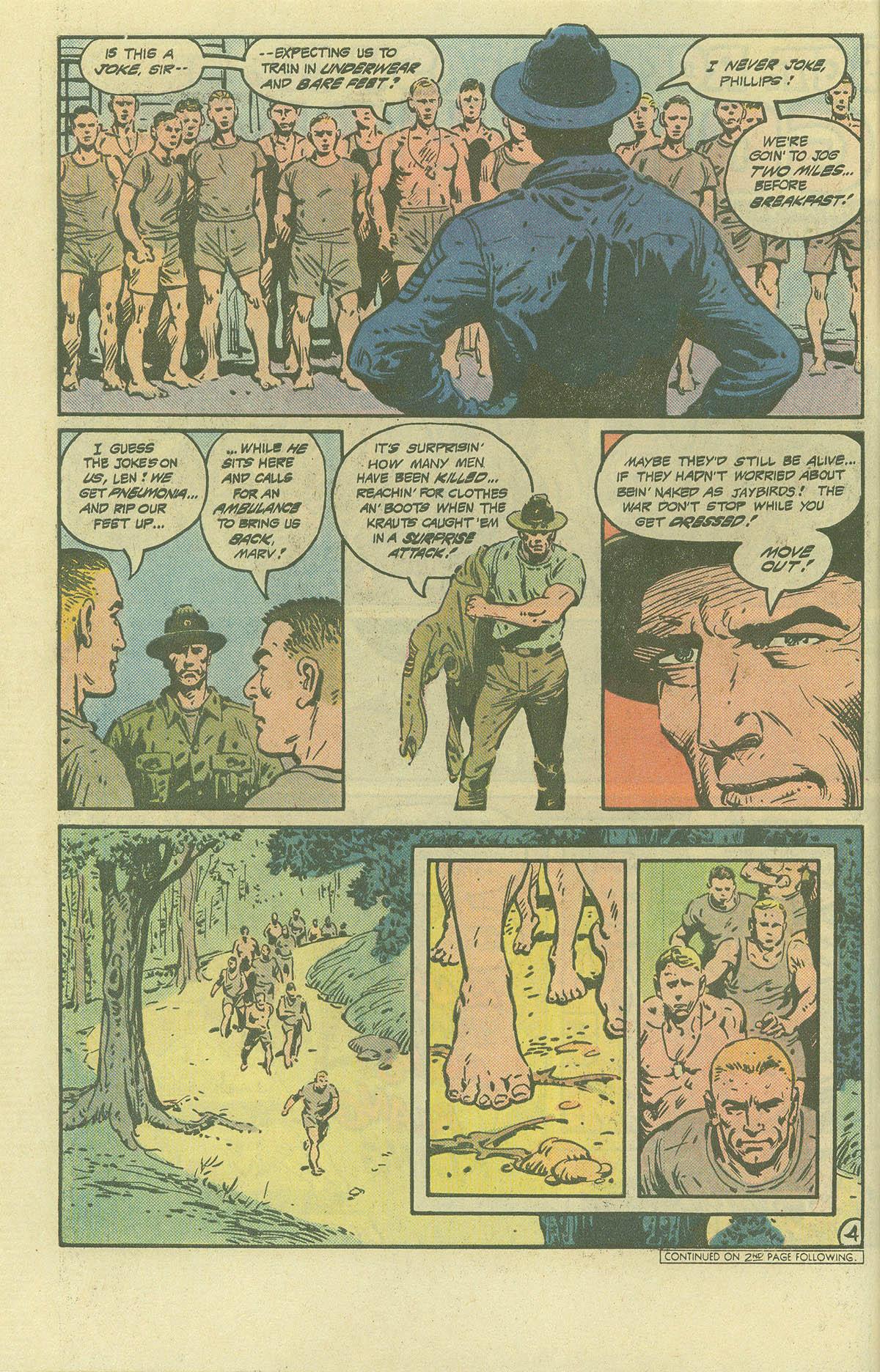 Read online Sgt. Rock comic -  Issue #392 - 4
