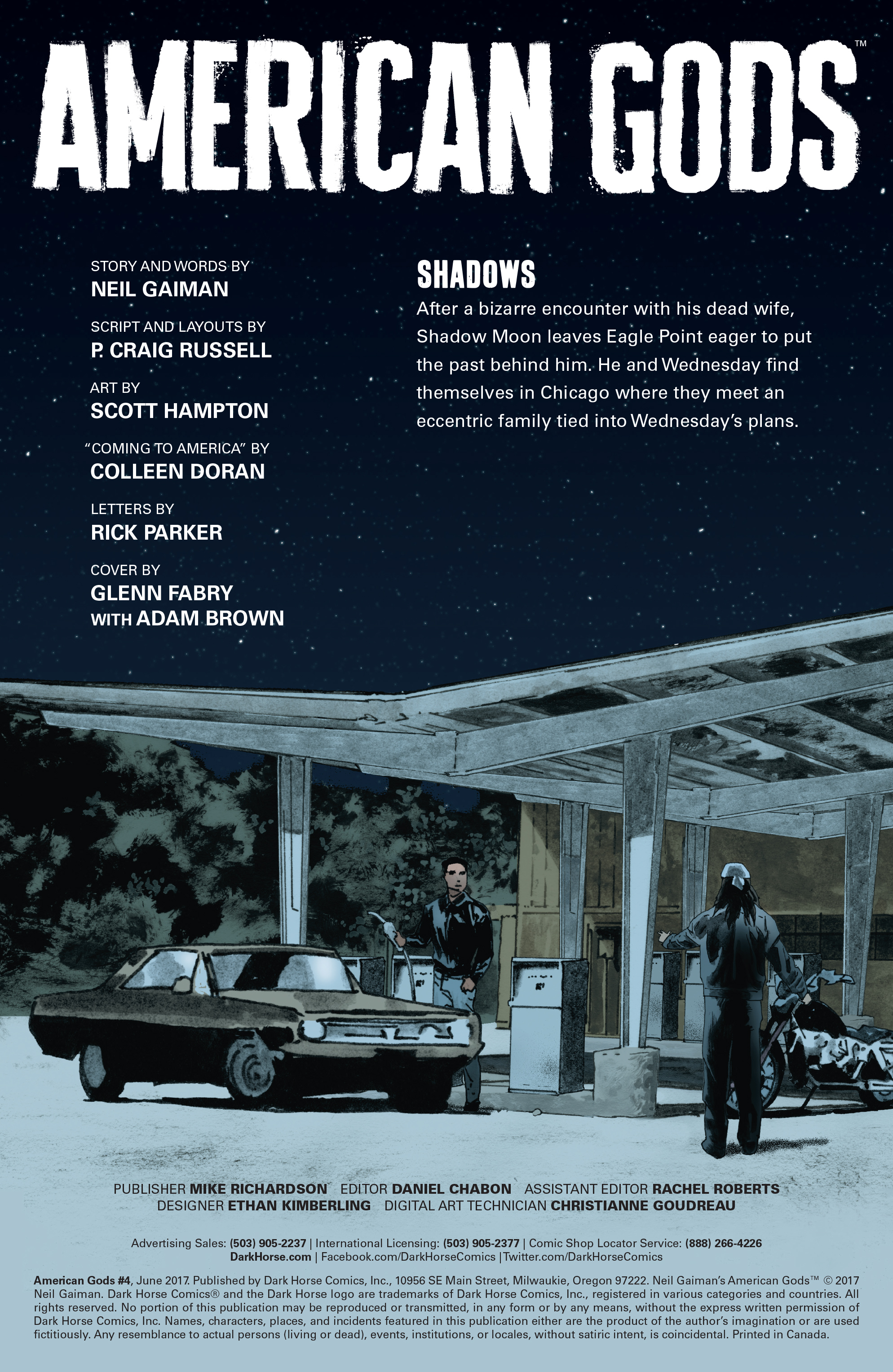 Read online American Gods: Shadows comic -  Issue #4 - 3