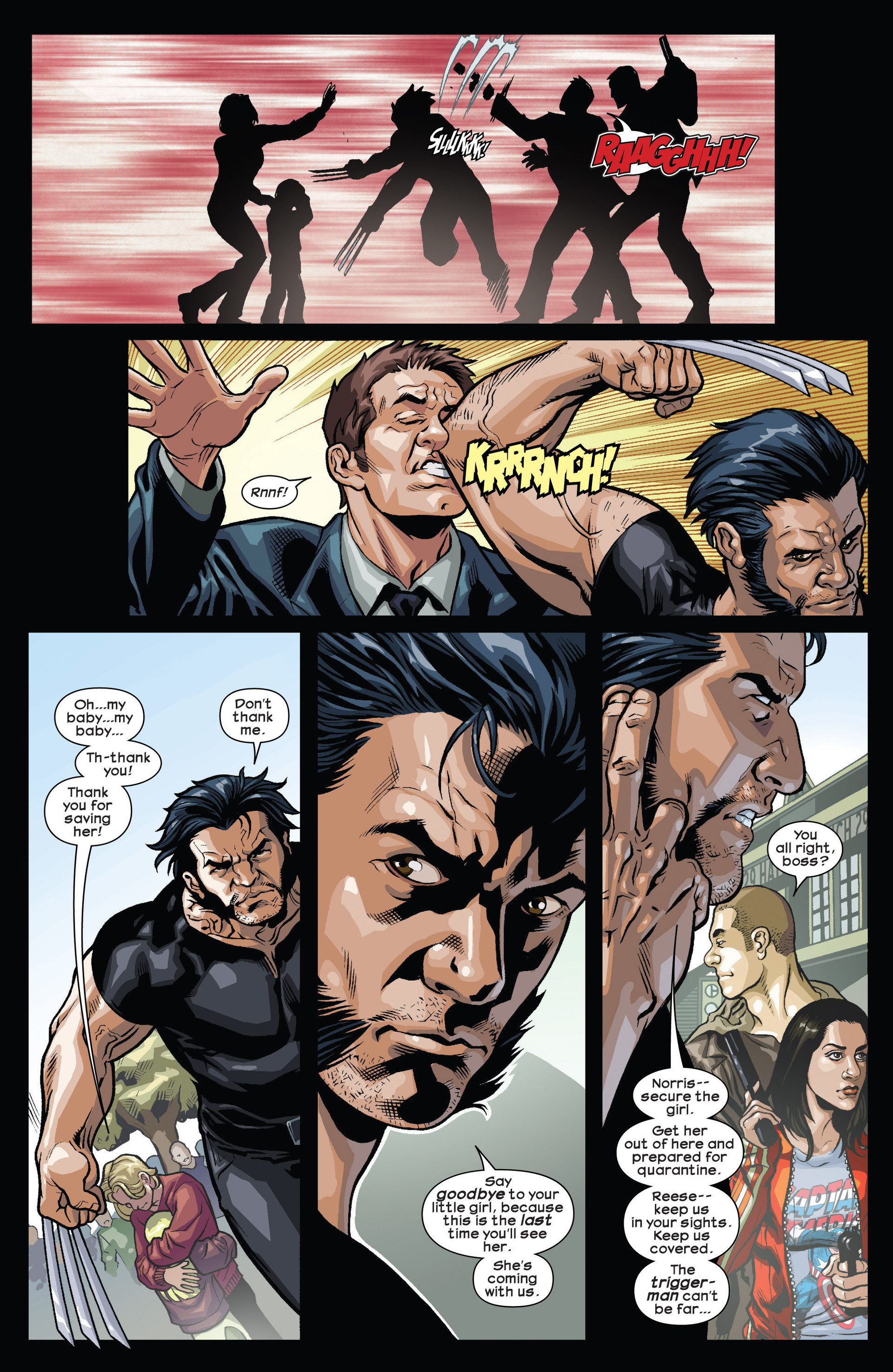 Read online Ultimate Comics Wolverine comic -  Issue #1 - 9