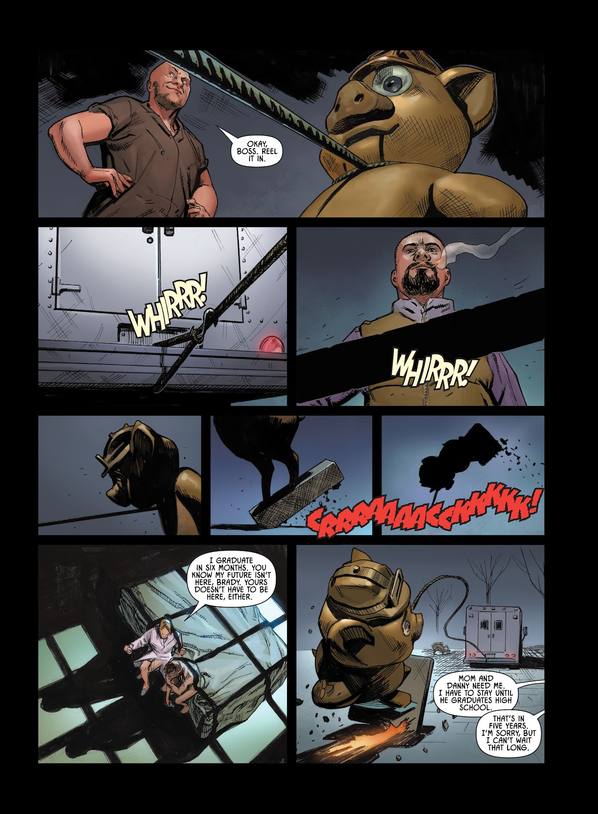 Savage Circus issue 1 - Page 23