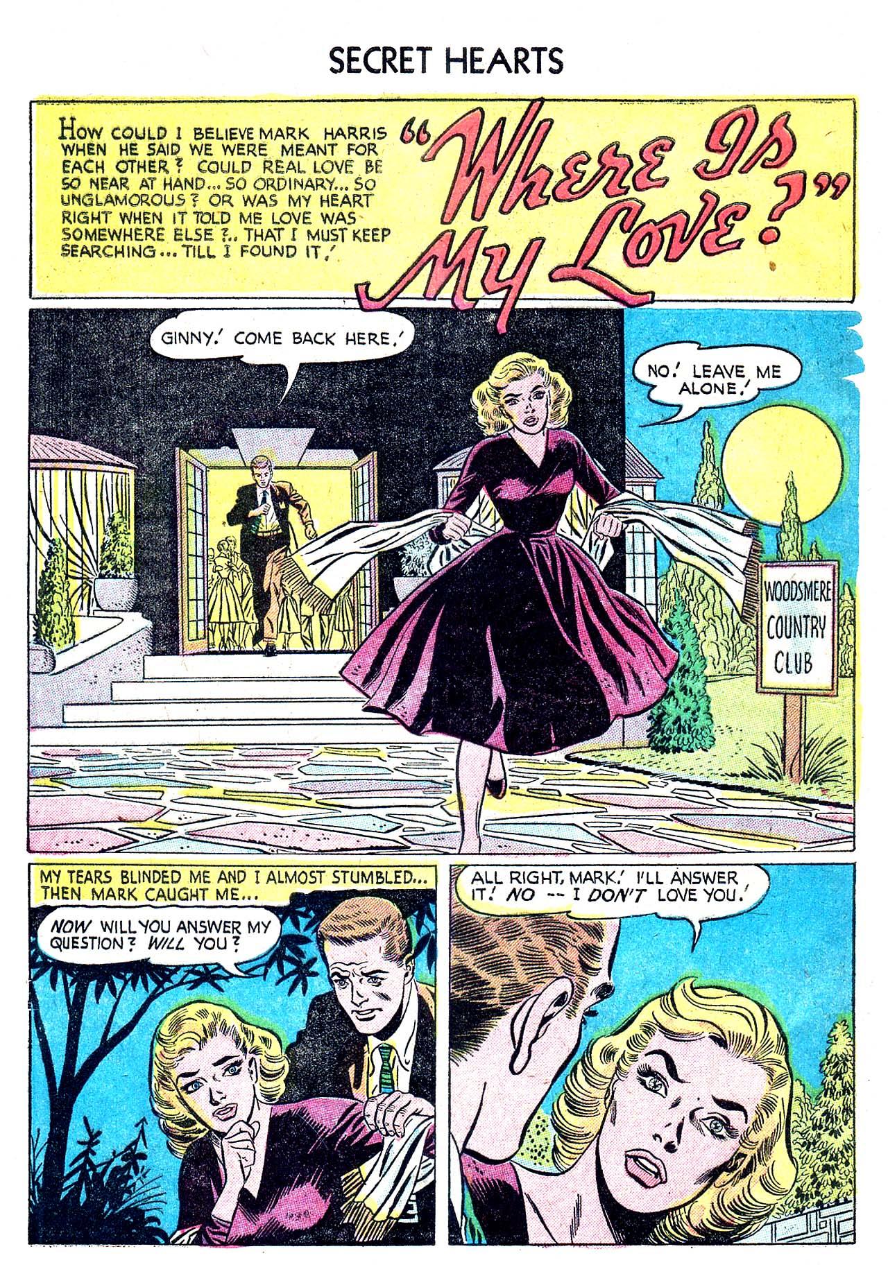 Read online Secret Hearts comic -  Issue #32 - 10