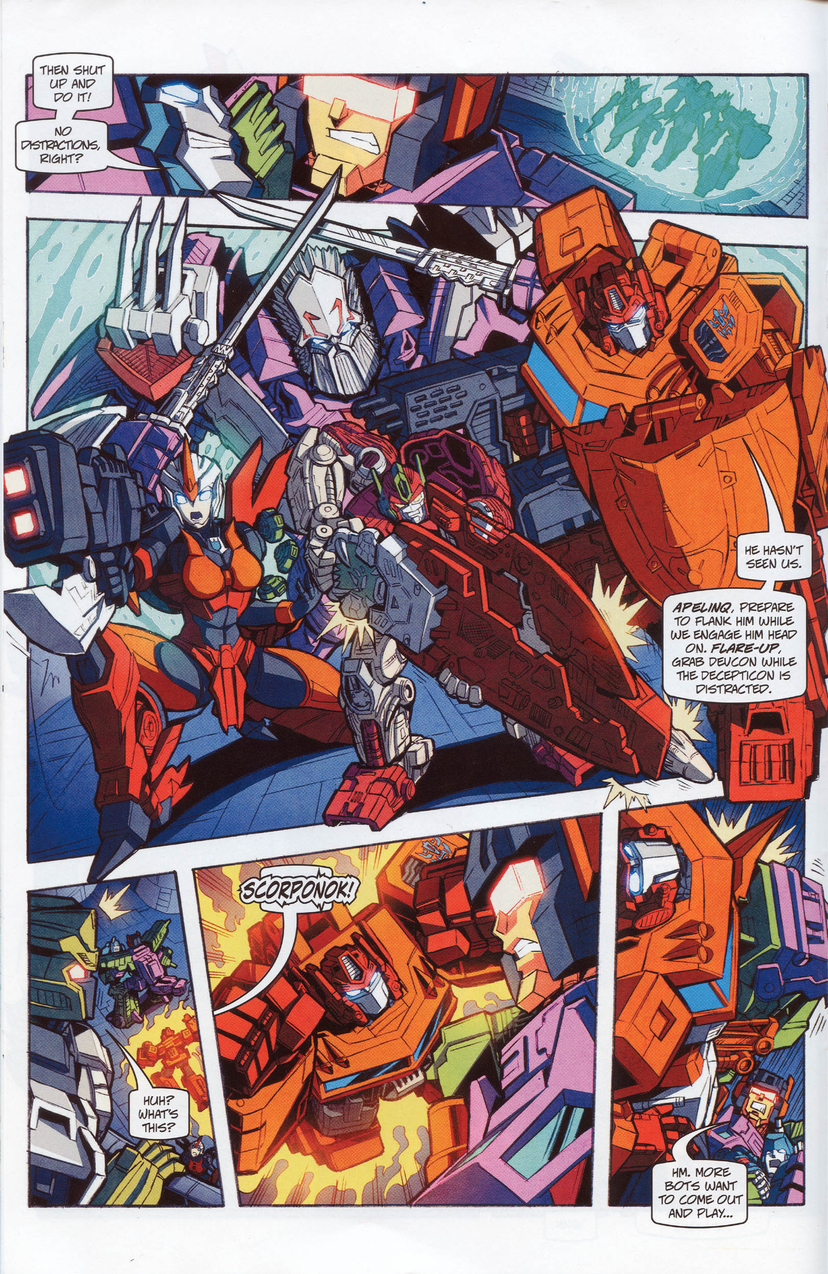 Read online Transformers: Timelines comic -  Issue #10 - 16
