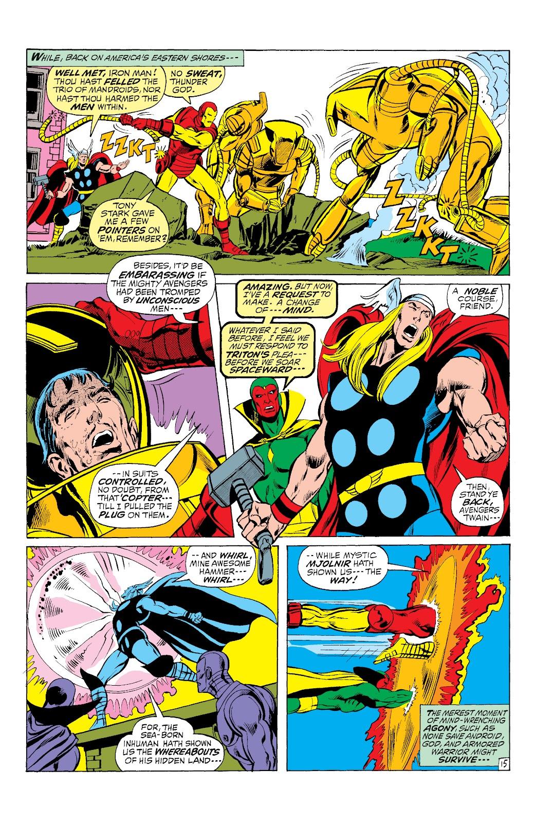 Read online Marvel Masterworks: The Inhumans comic -  Issue # TPB 1 (Part 3) - 10