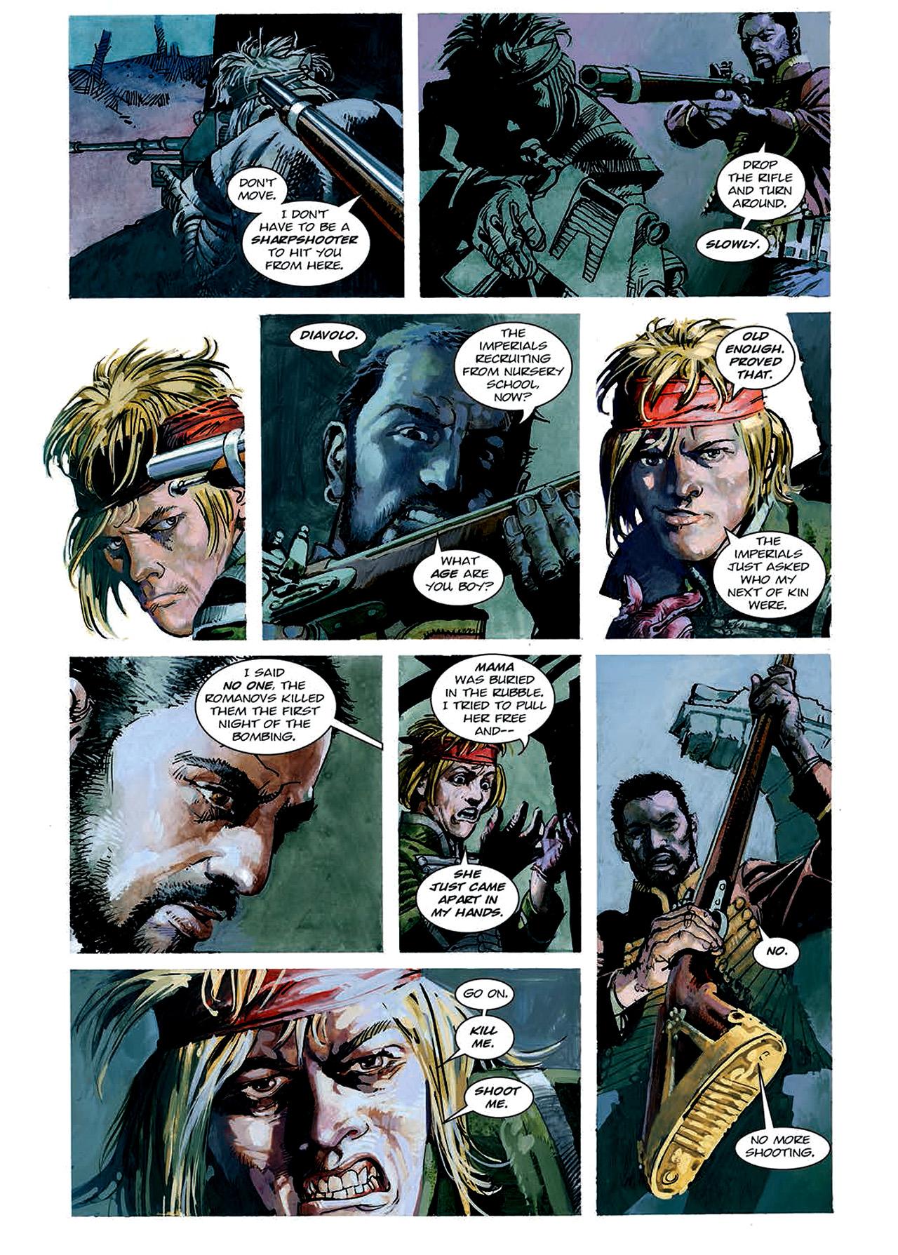 Read online Nikolai Dante comic -  Issue # TPB 4 - 63