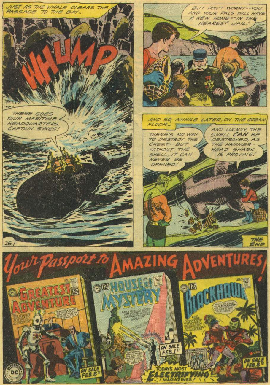 Read online Aquaman (1962) comic -  Issue #2 - 32