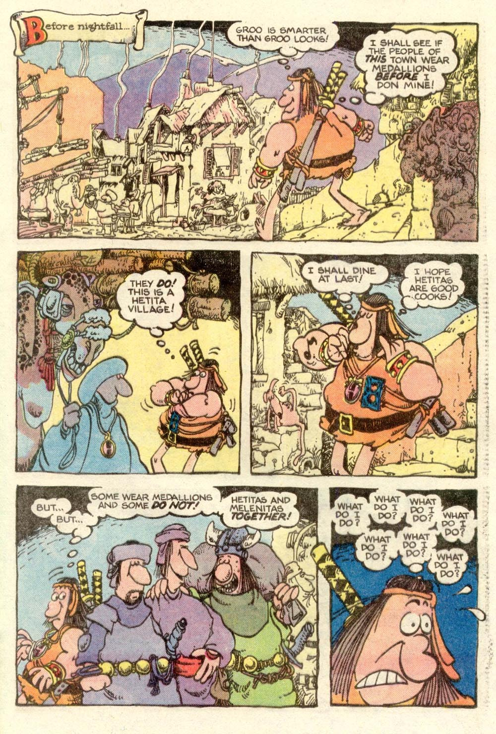Read online Sergio Aragonés Groo the Wanderer comic -  Issue #3 - 15