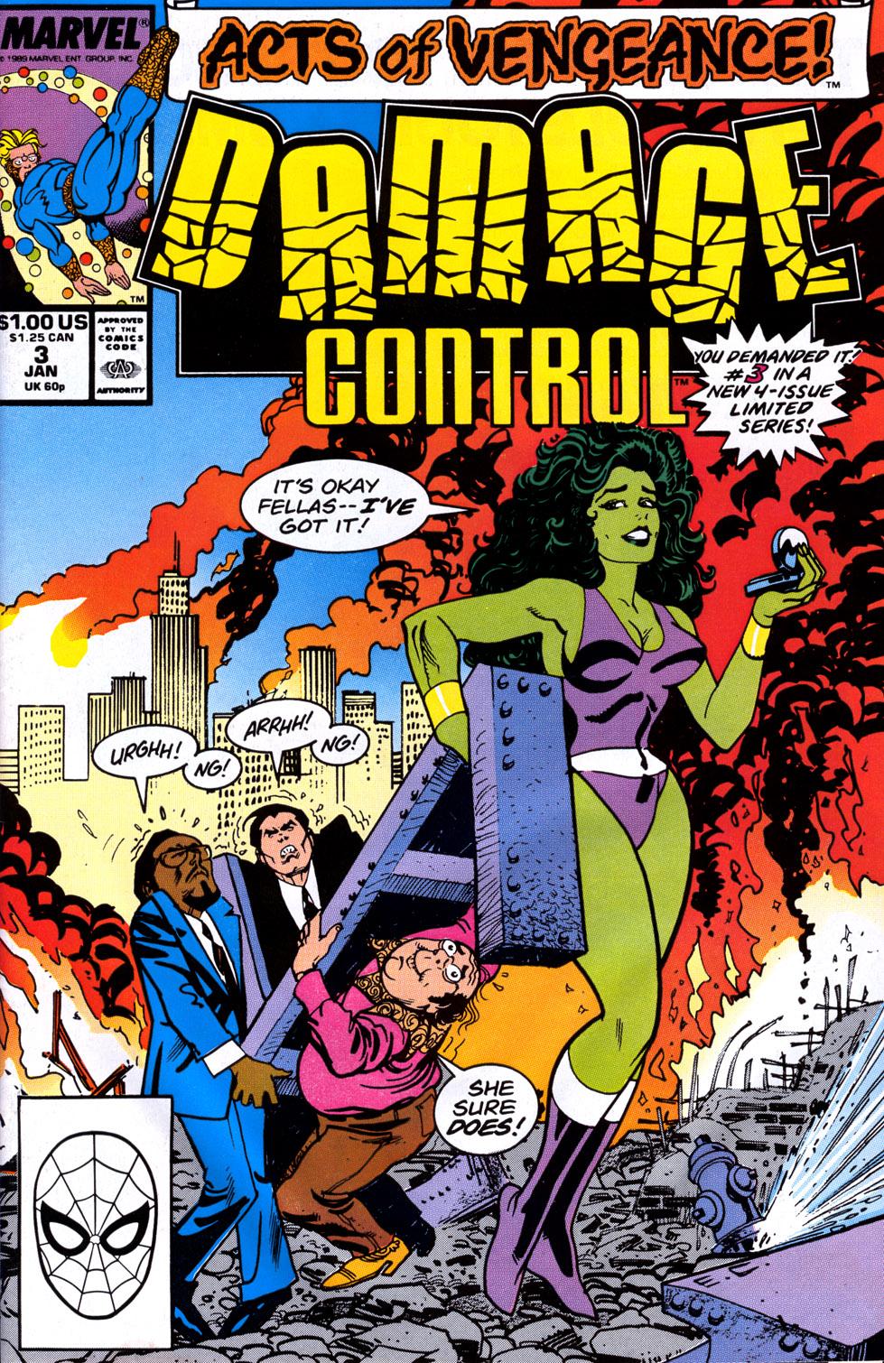Damage Control (vol. 2) 3 Page 1